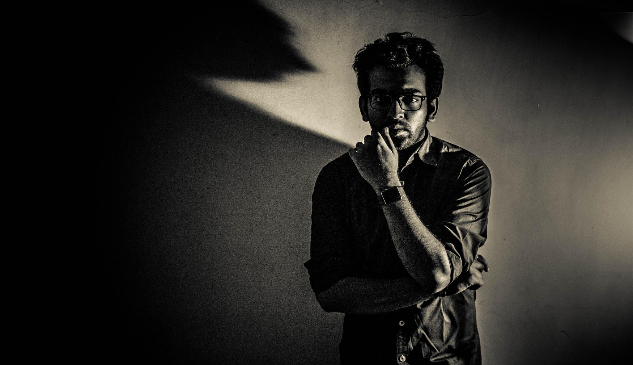 Self portraiture by Vineet sakargayen