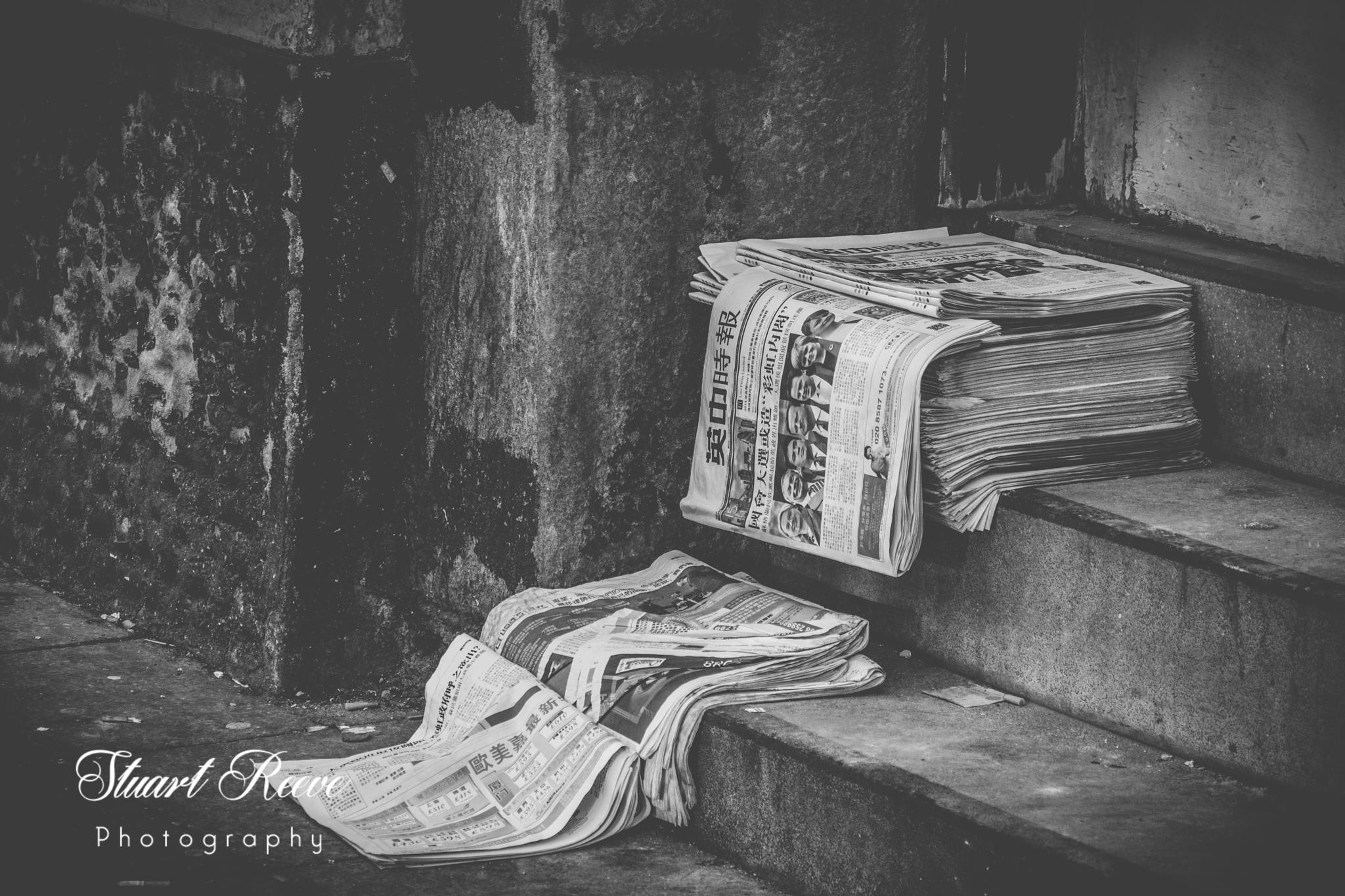 'Newspapers' by Stuart Reeve Photography