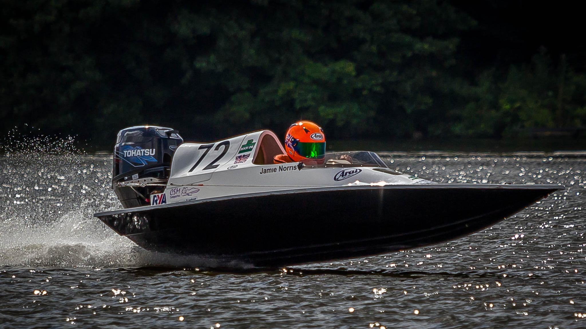Junior Powerboat Racing by Vincent Malcolm