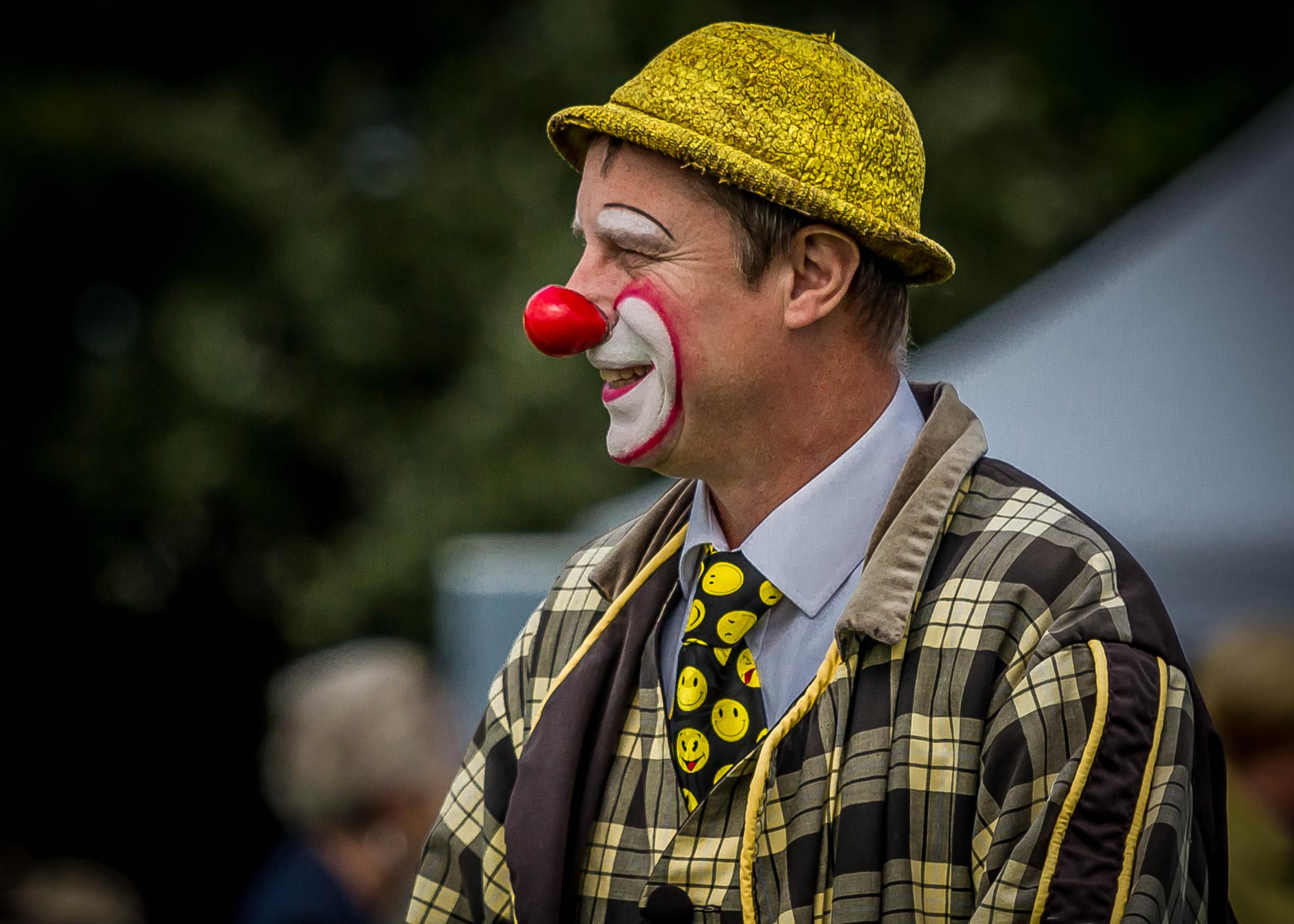 First Clown in Profile ... by Vincent Malcolm
