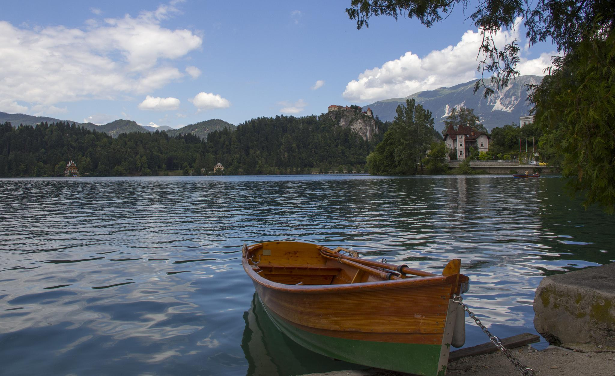 Bled Lake by misterpinna