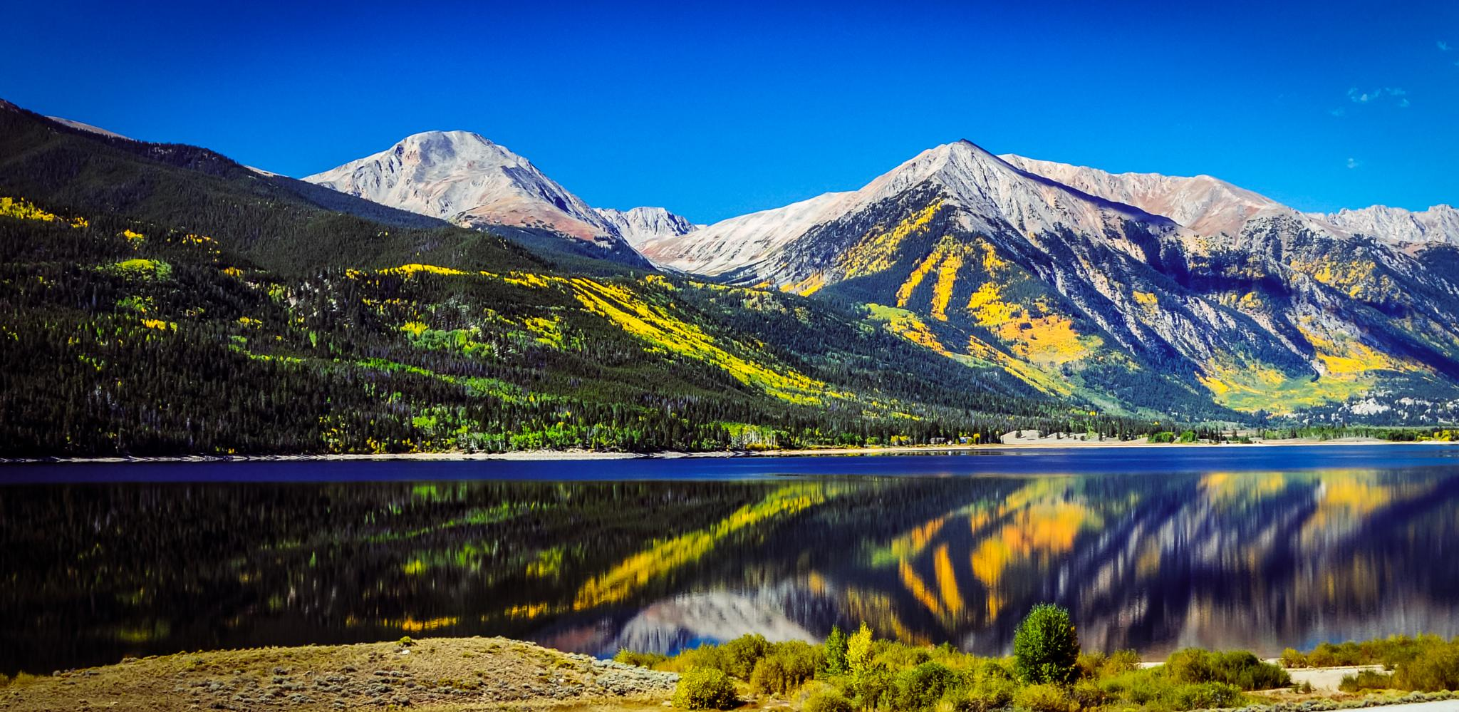 Twin Lakes by On A Walk Photography
