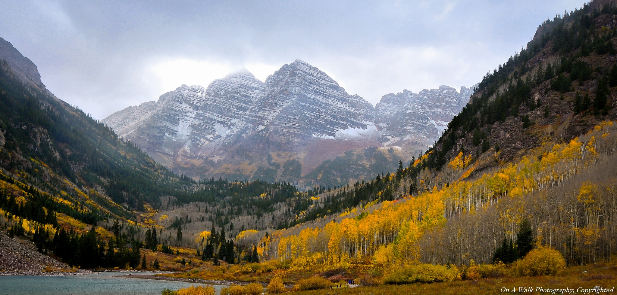 Maroon Bells by On A Walk Photography