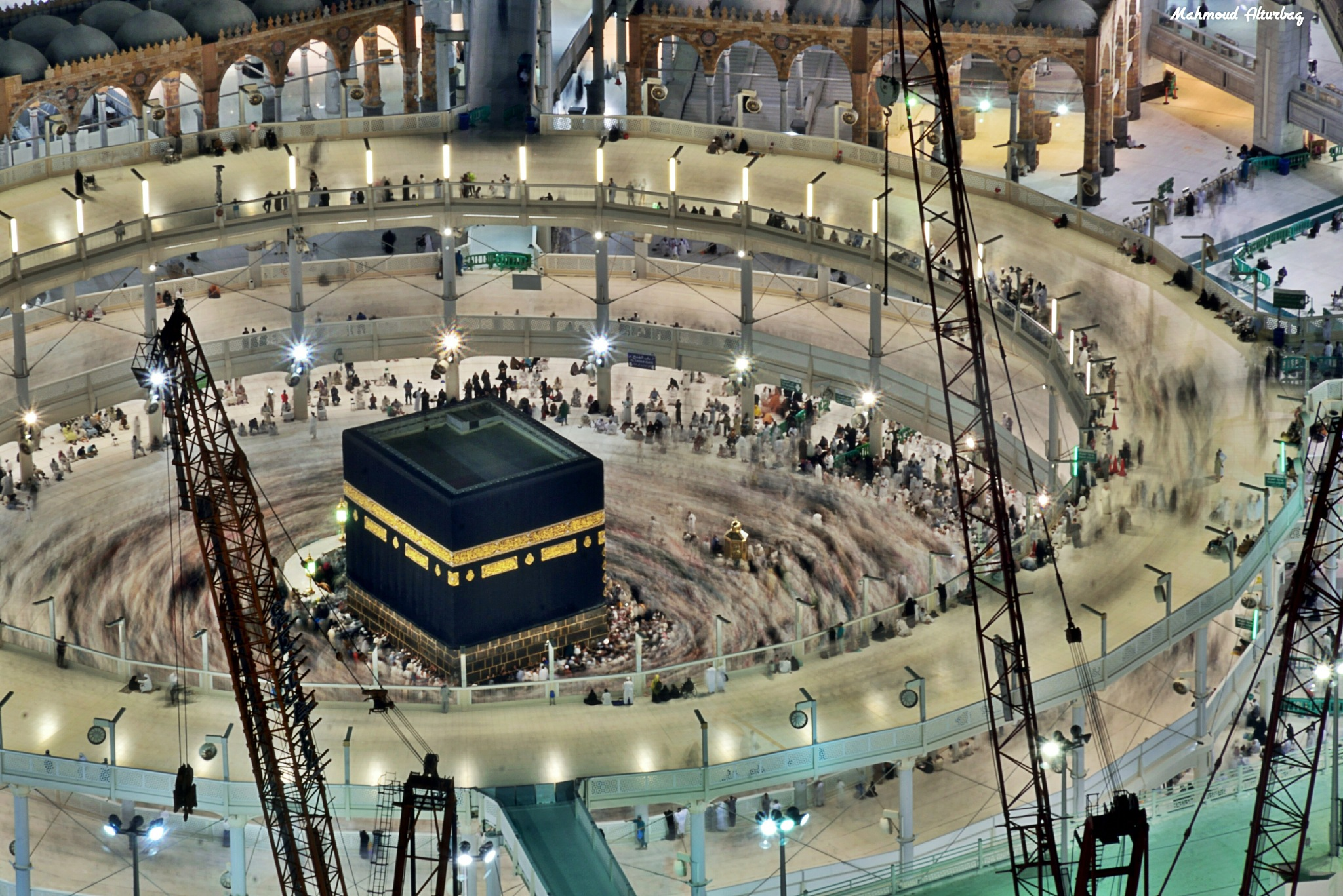 The Holy Kaaba  by Mahmoud Alturbaq