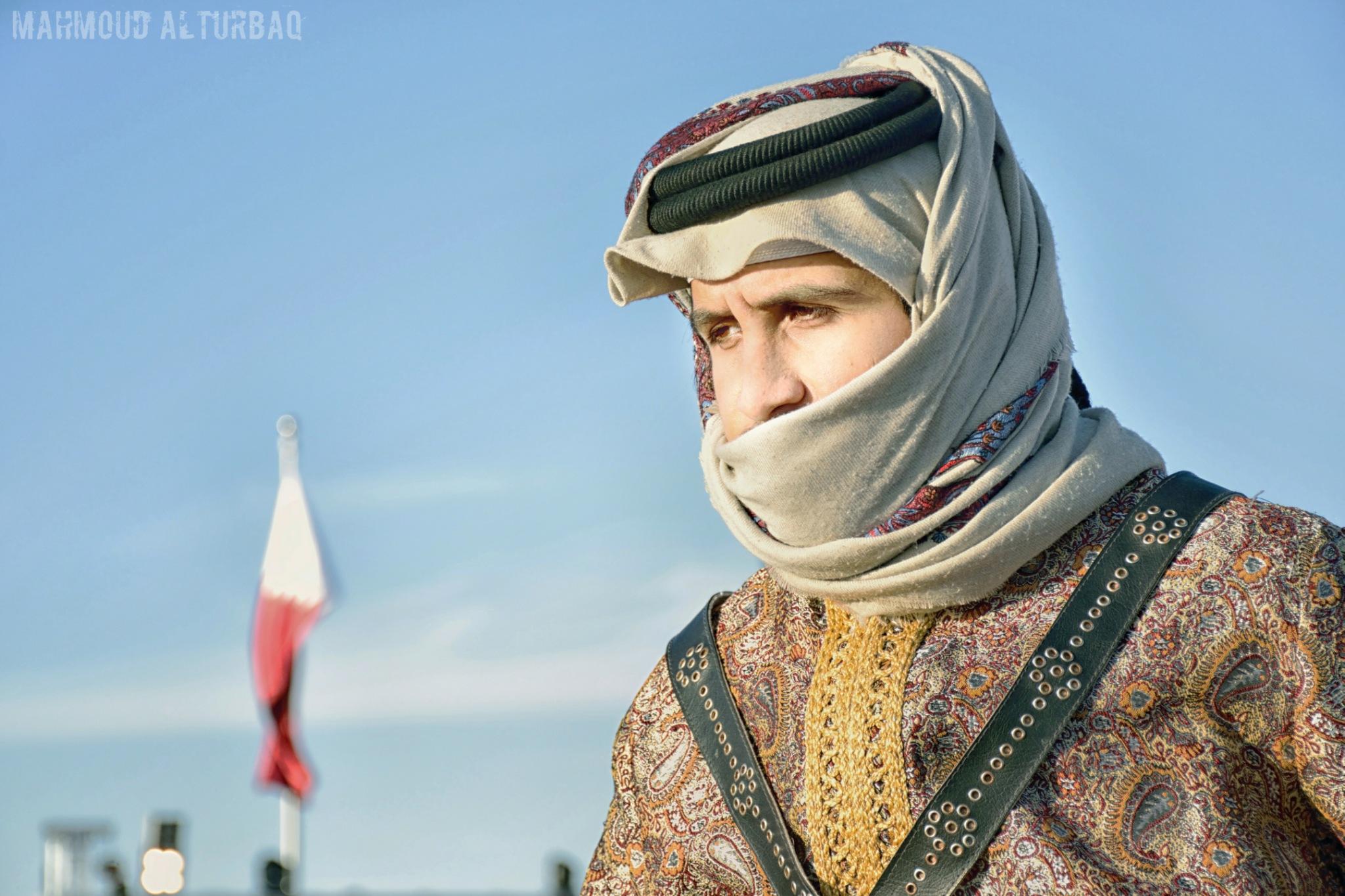Qatari Knight  by Mahmoud Alturbaq
