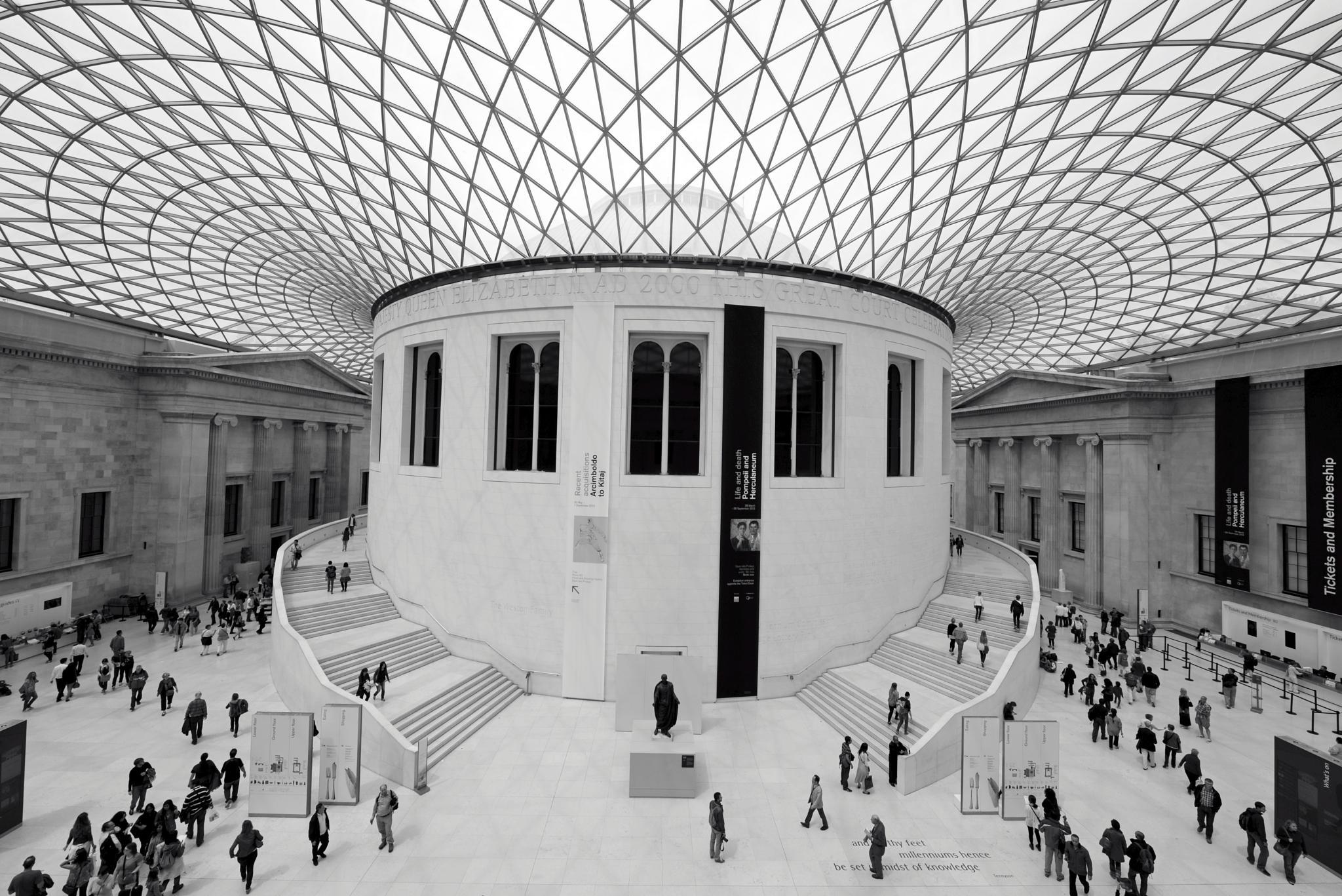 British Museum London by Ann