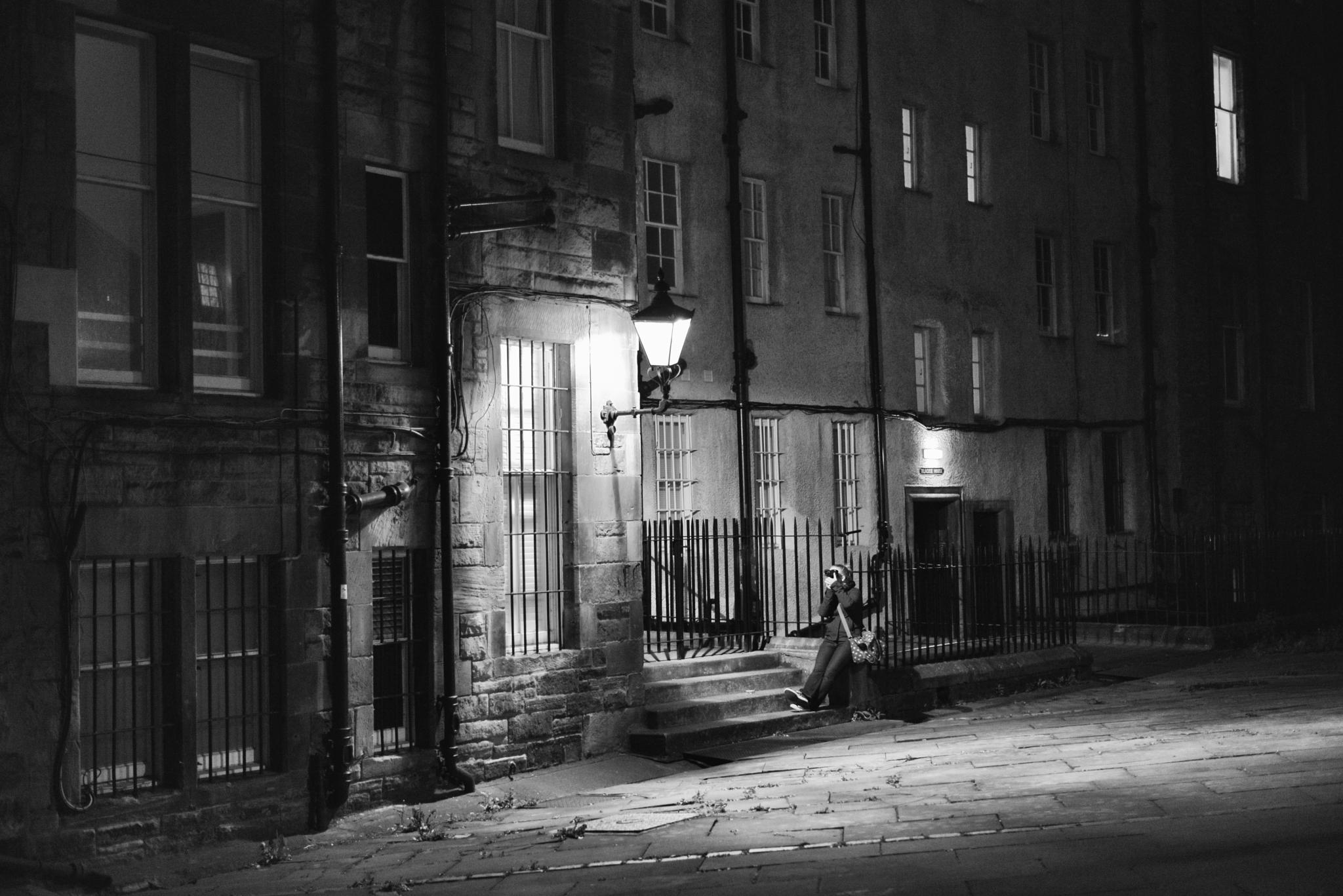 Edinburgh Photographer by Ann