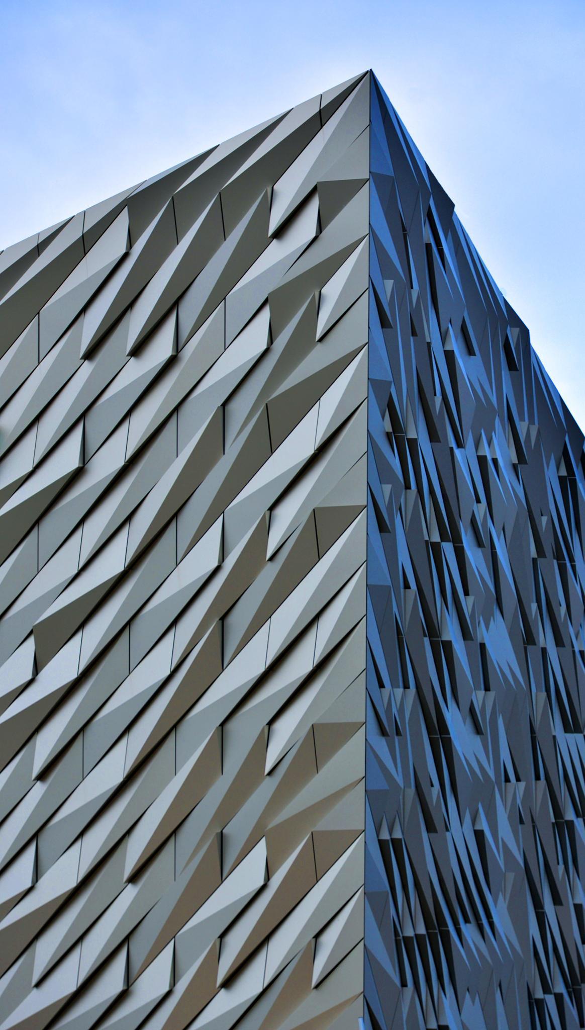 Titanic Building Belfast by Ann