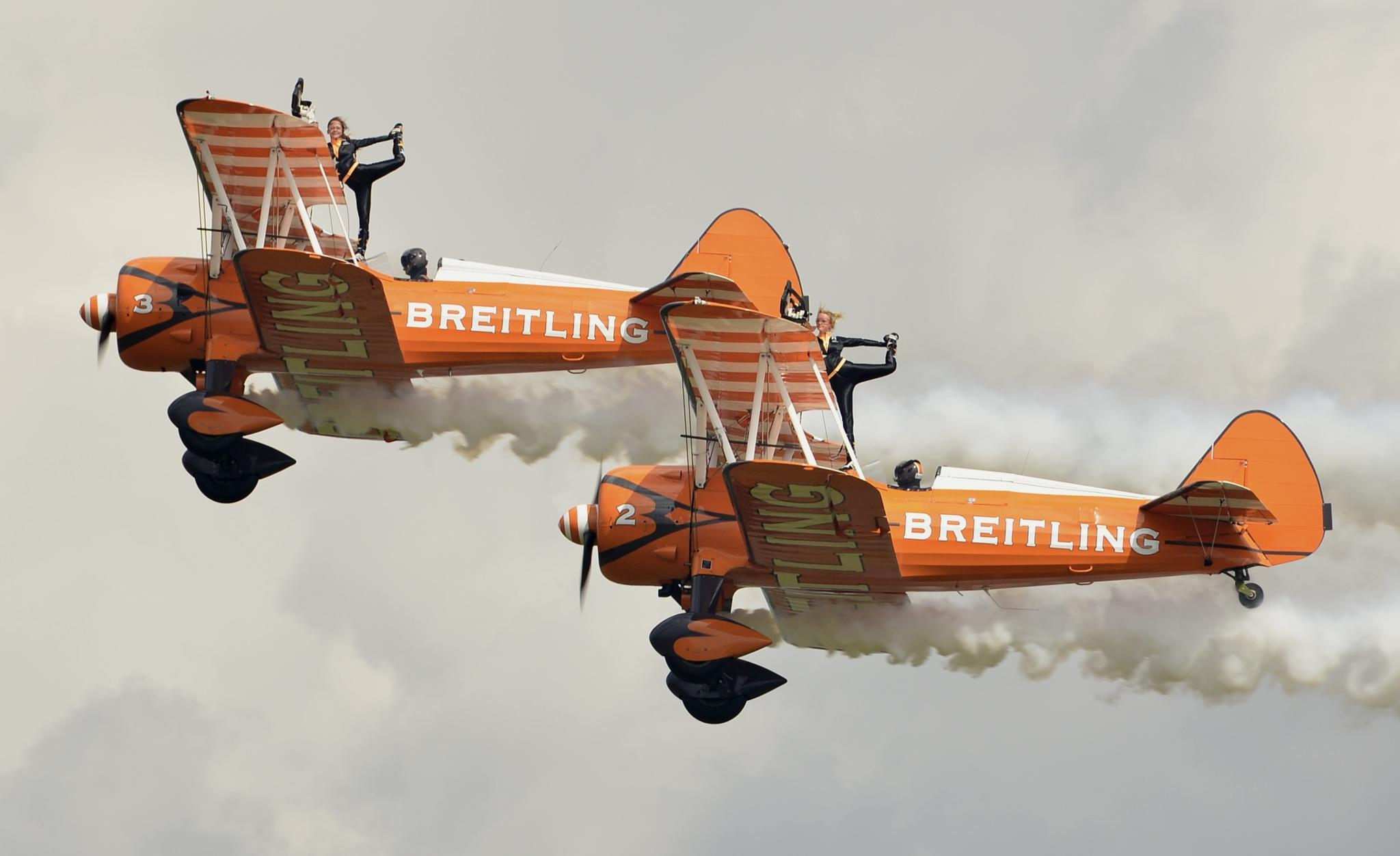 Breitling Wing Walkers by Ann