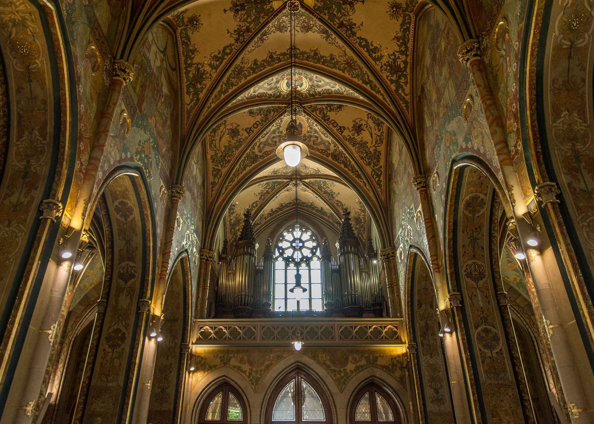 The organ in the cathedral of Peter and Paul (Prague) by Anna Pronenko