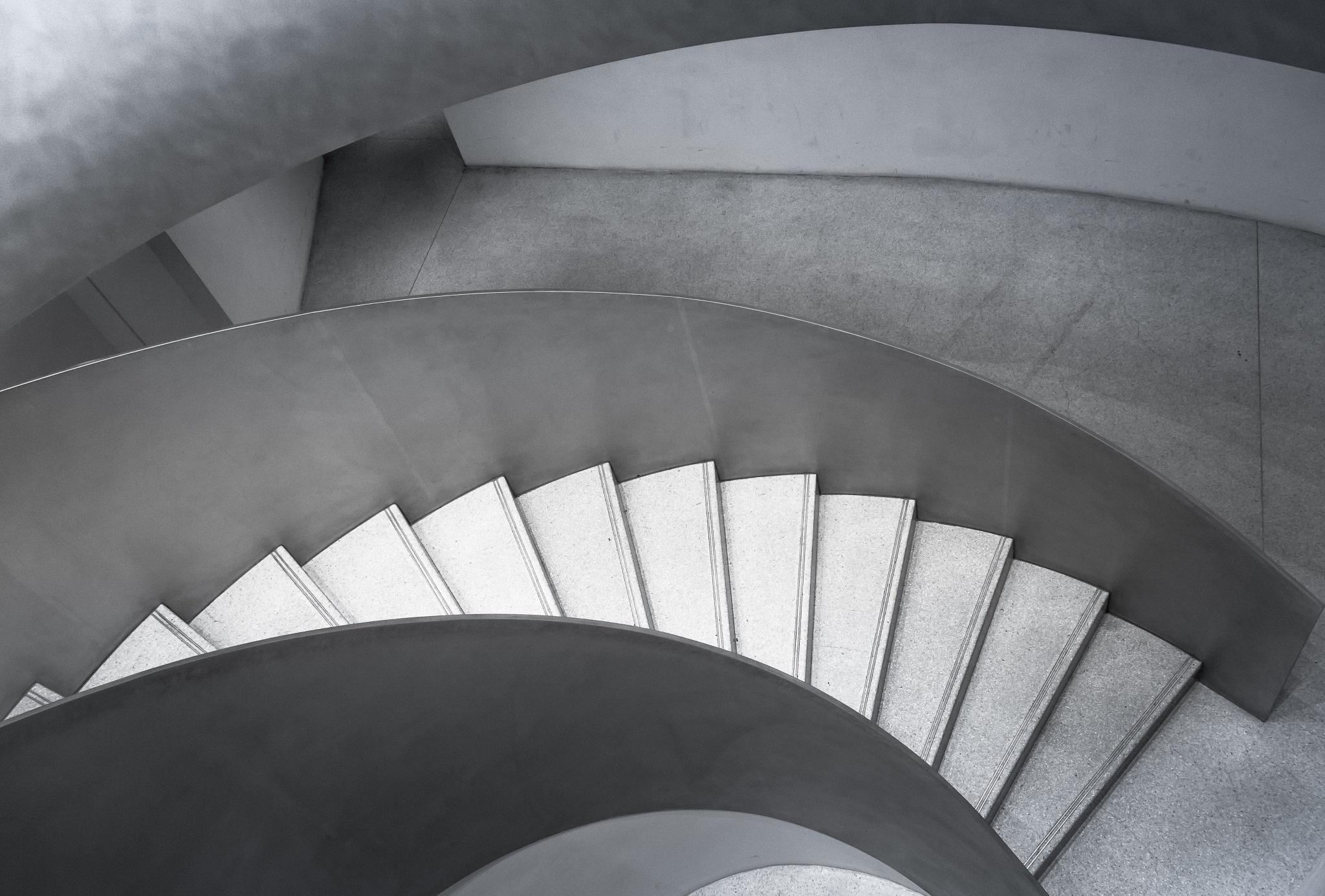 Wave-stairs by Hervé Samson