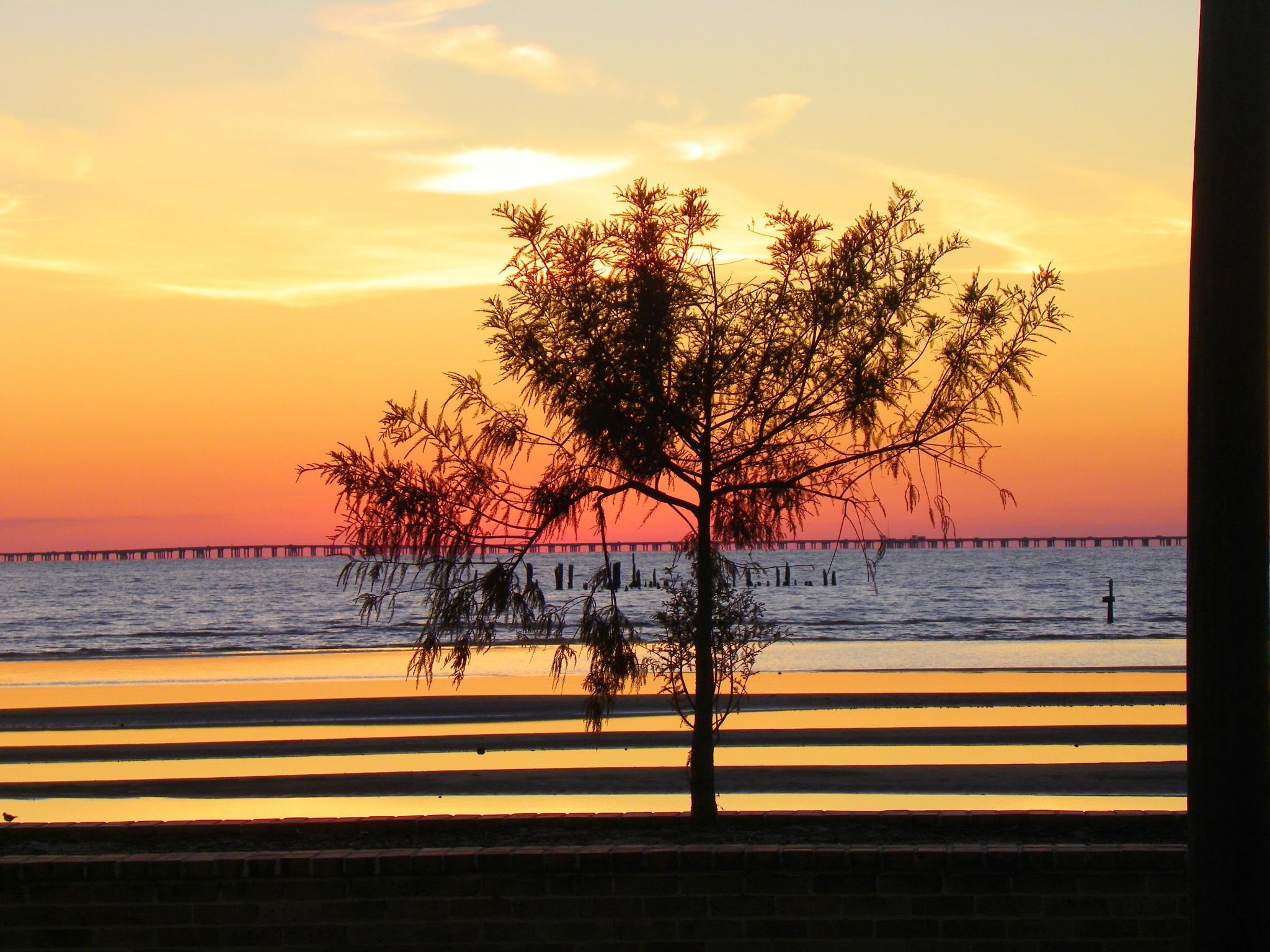 Sunset On Lake Ponchatrain by TeriF