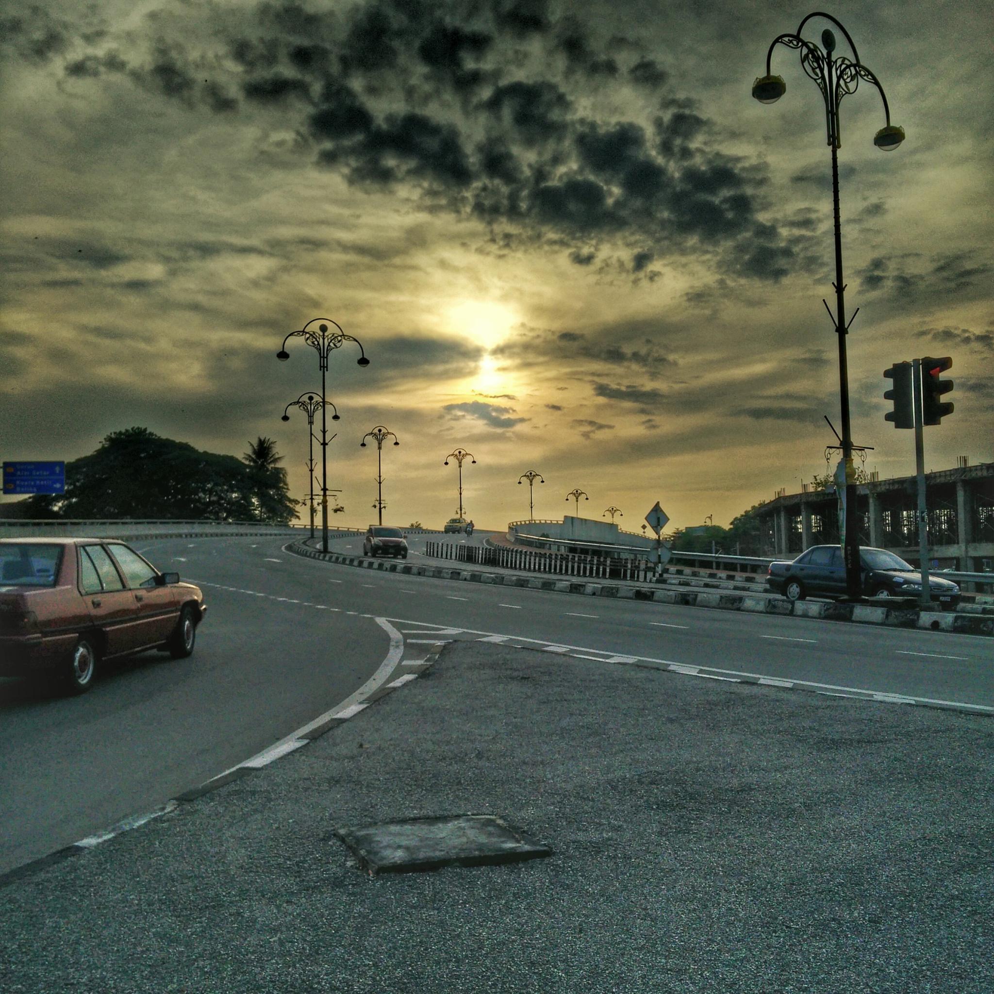 Sunrise by KRISHNAVENDRA . MURALLE