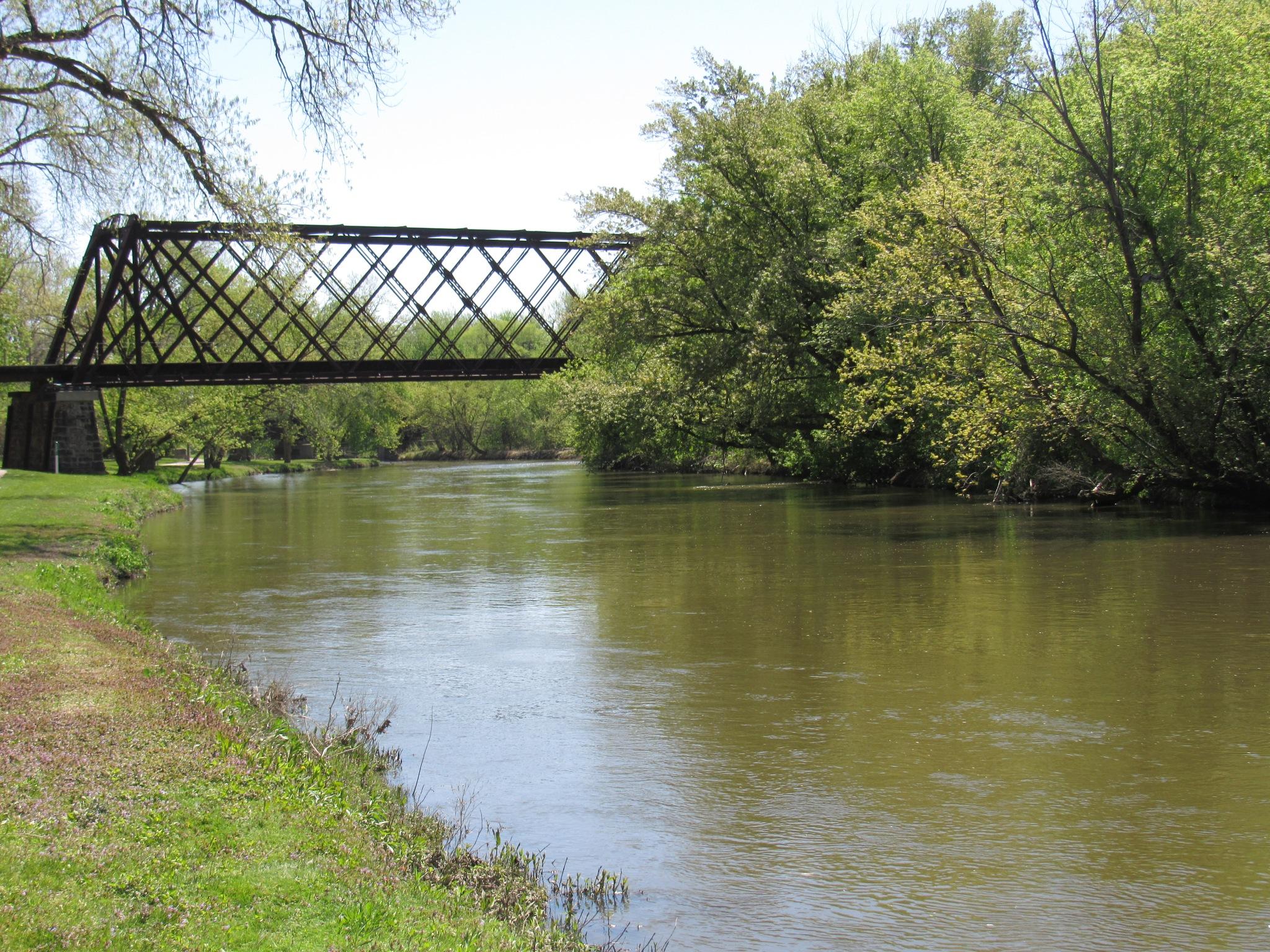 Old Bridge Quiet Nature by Carla Hepp
