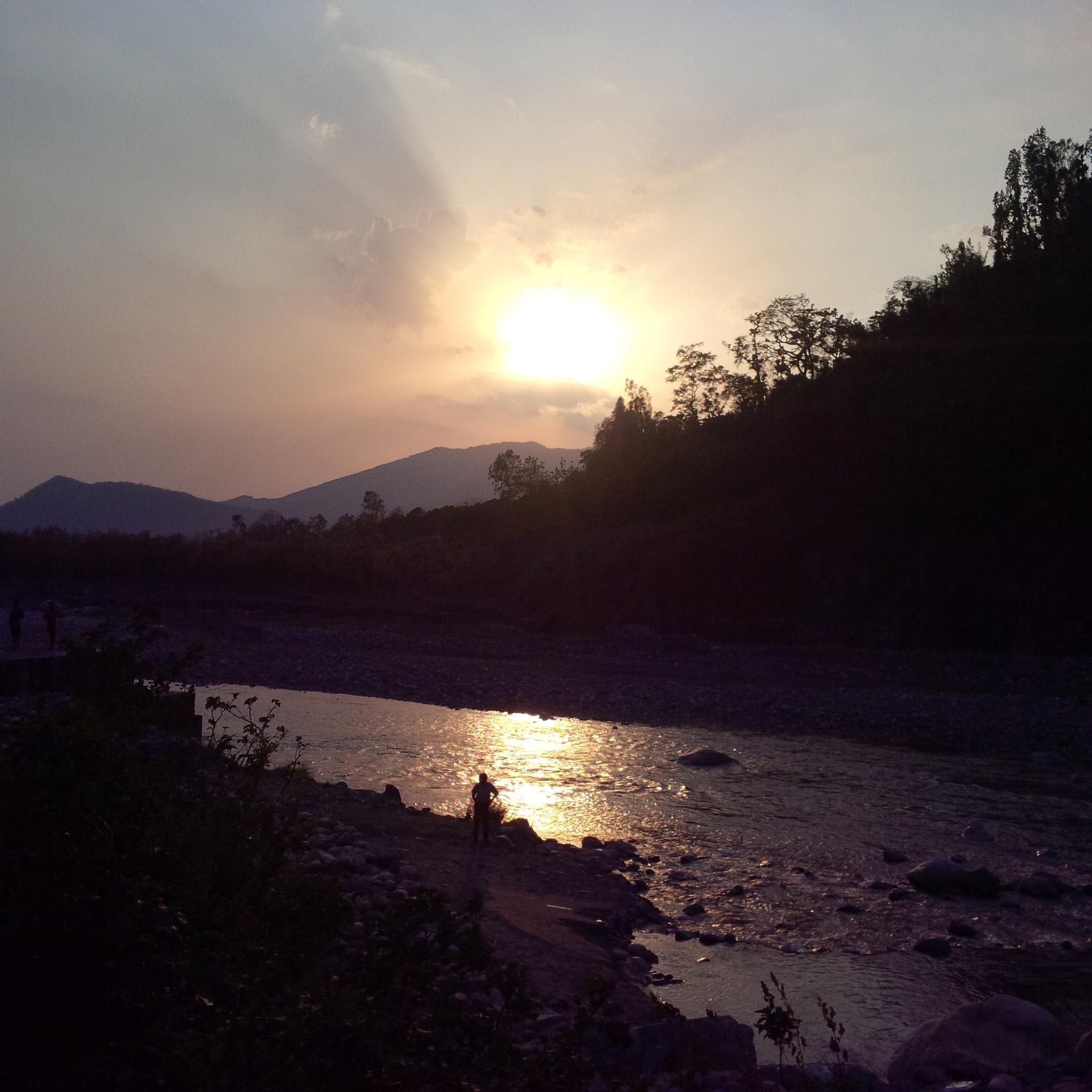 awesome sunset... by Shubham Jain