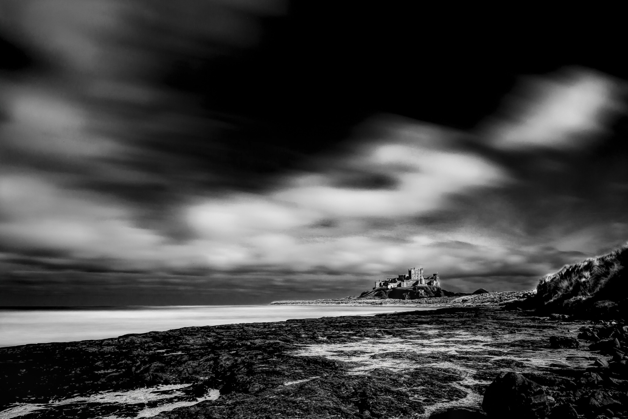 Bamburgh Castle by JaapCoorens