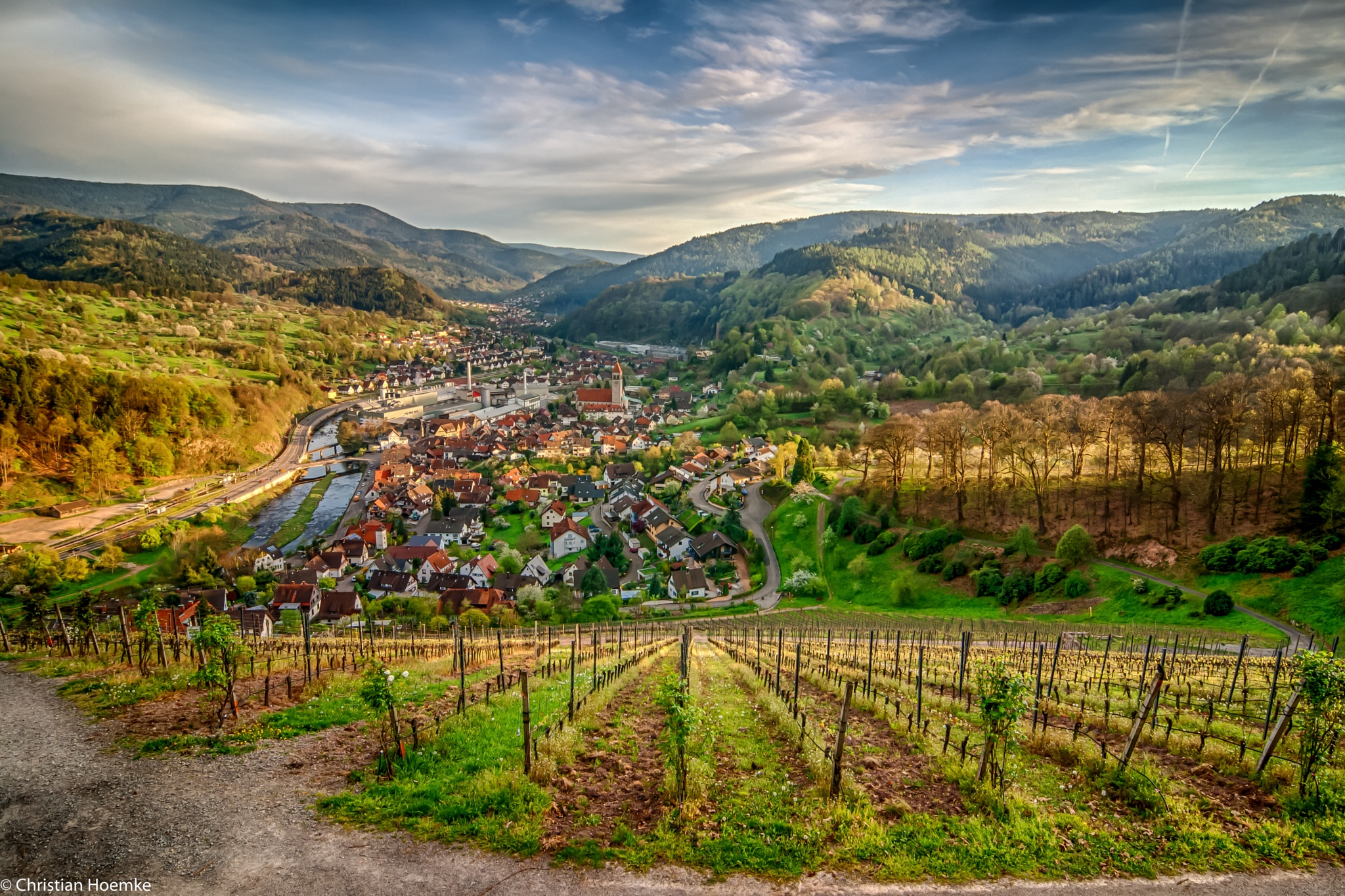 Murg Valley by Christian Hoemke