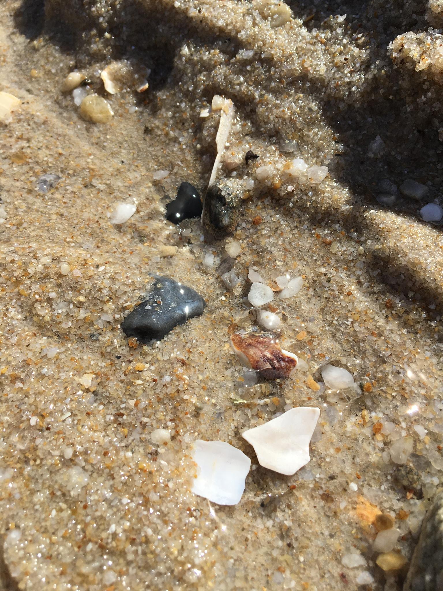 Wasser/Sand by Marianne Fischer