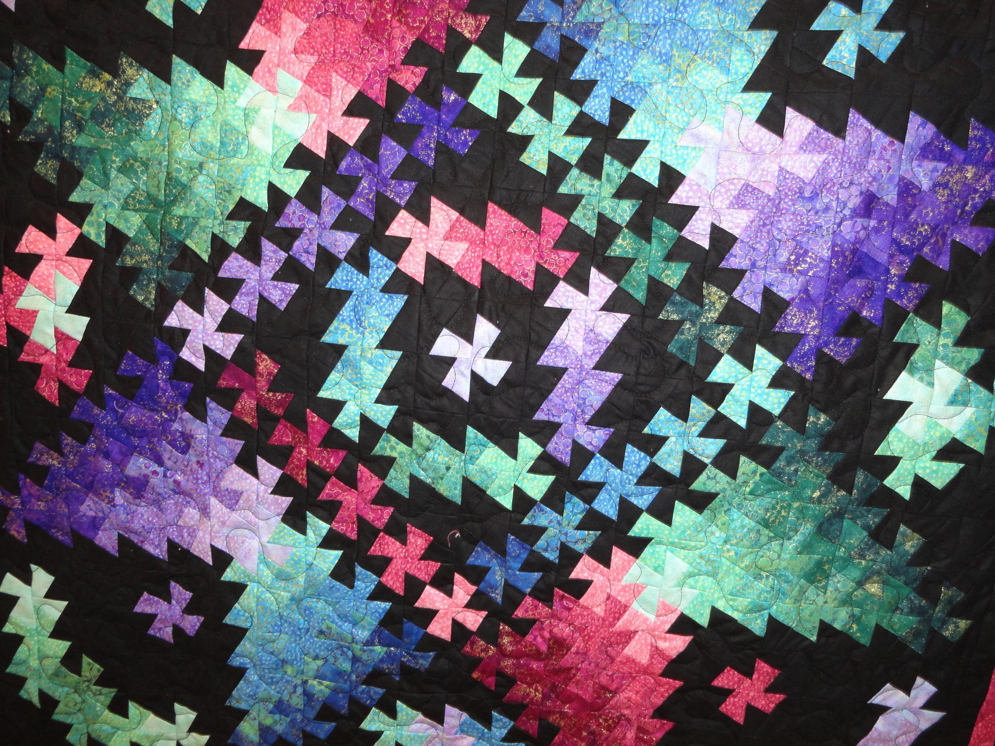 Quilt #17 by Rosalie H Mazure
