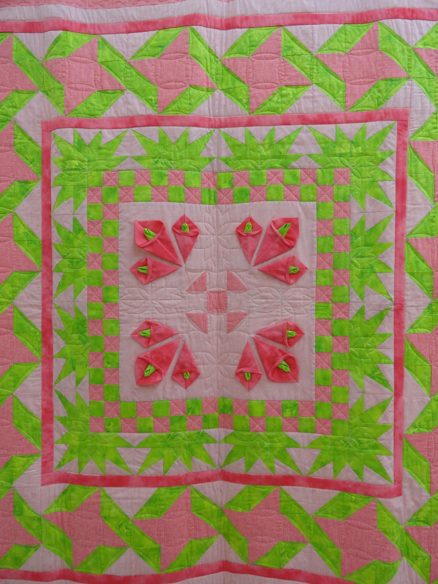 Quilt #16 by Rosalie H Mazure