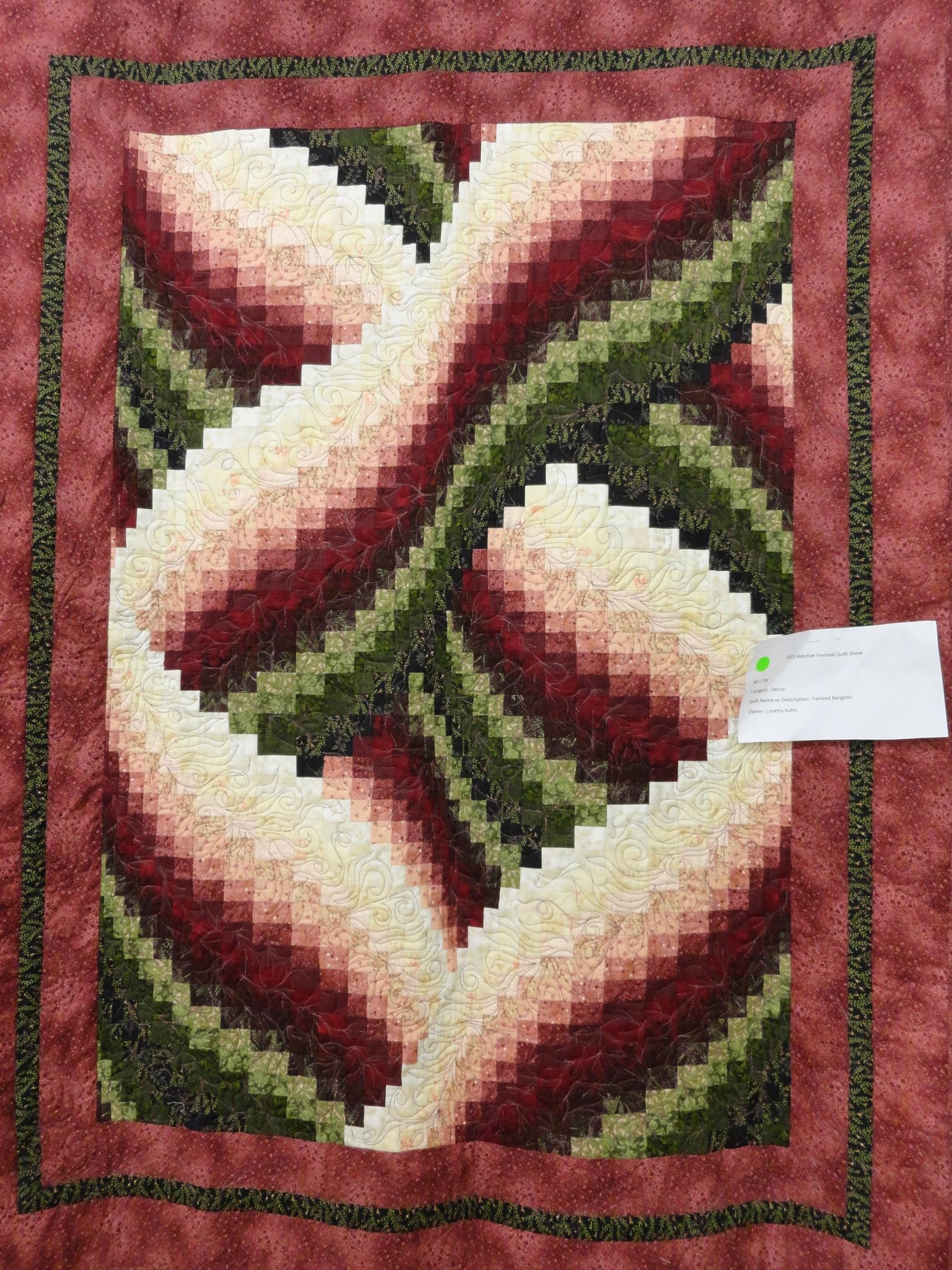 Quilt #12.0 by Rosalie H Mazure
