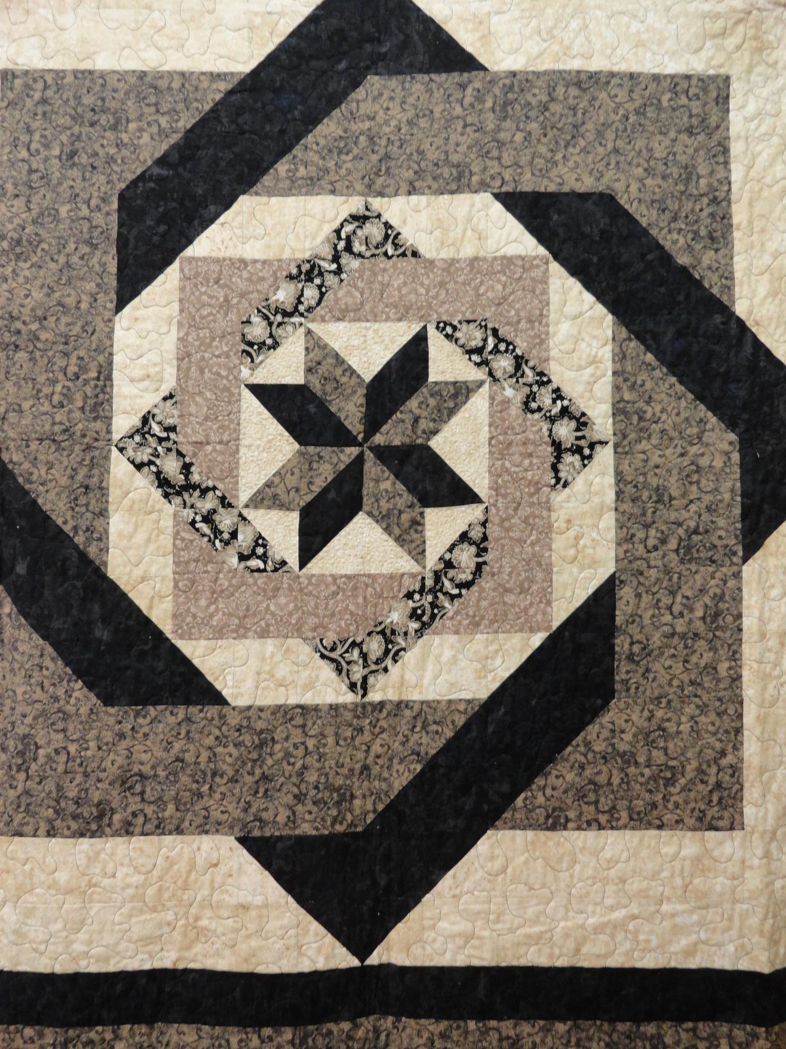 Quilt #6  by Rosalie H Mazure