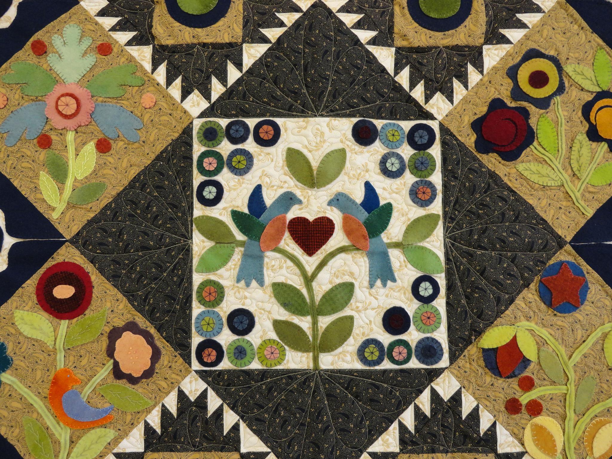 Quilt #5 by Rosalie H Mazure
