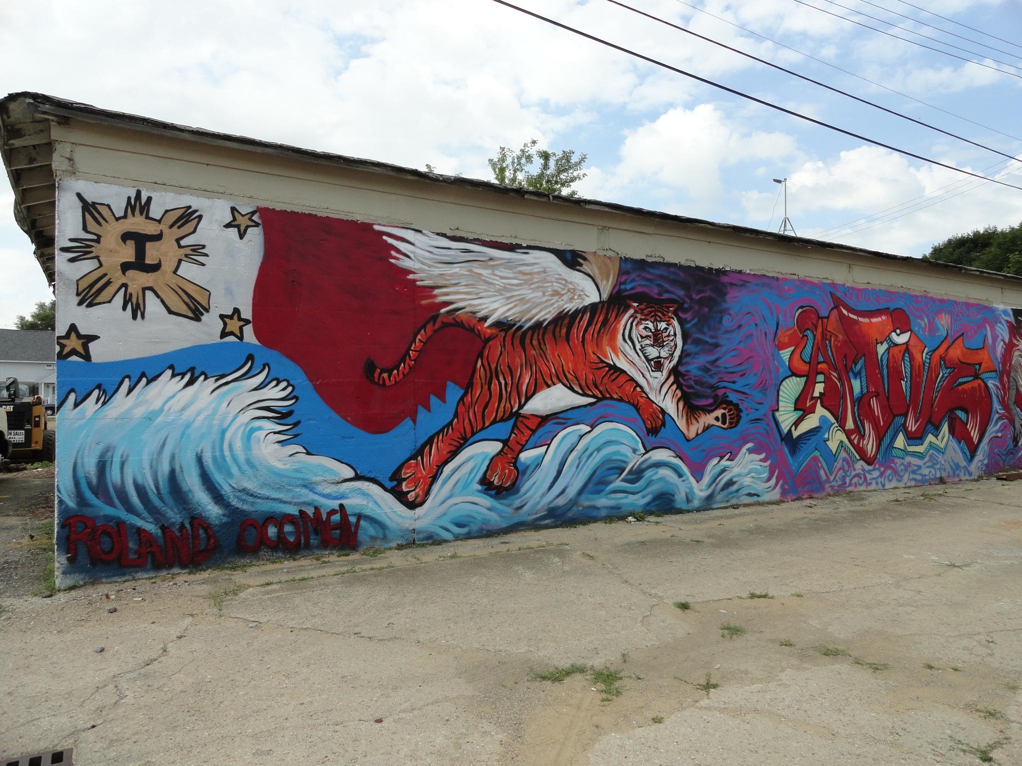 Flying Tiger by Rosalie H Mazure