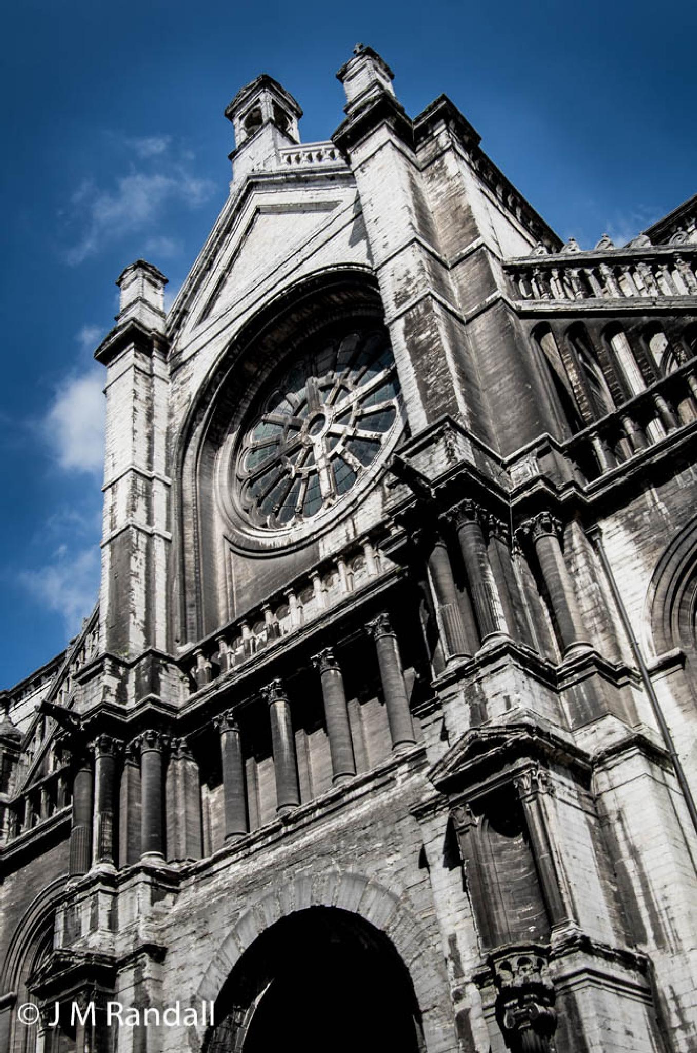 Sainte-Catherine Church by James Randall