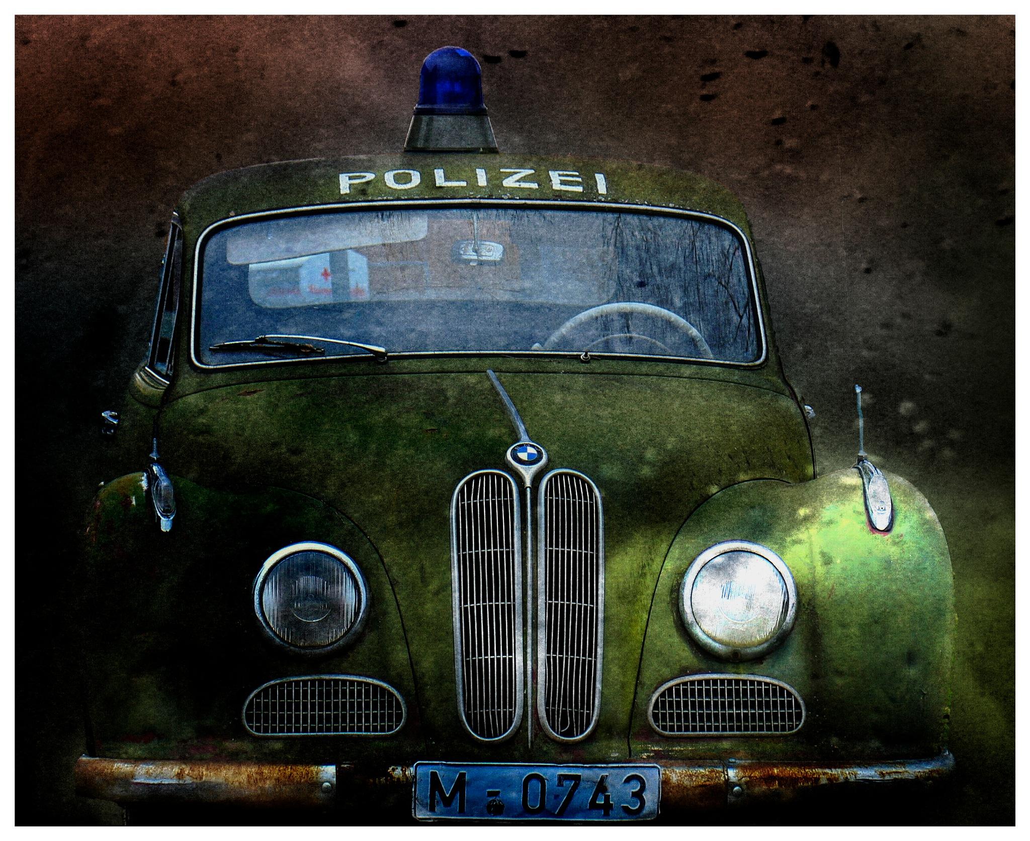 Police Car by Art Tower Brigitte Werner