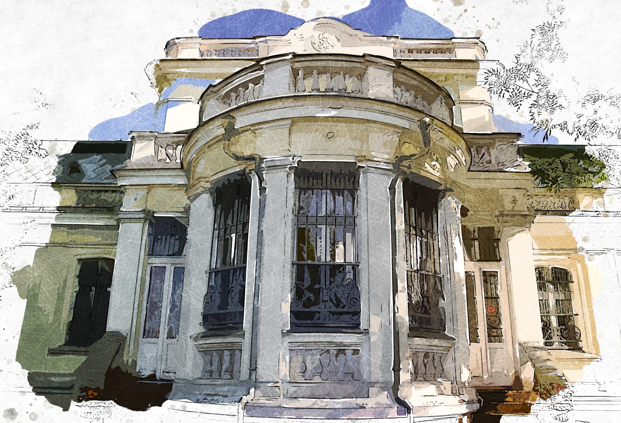 Library by Brigitte Werner