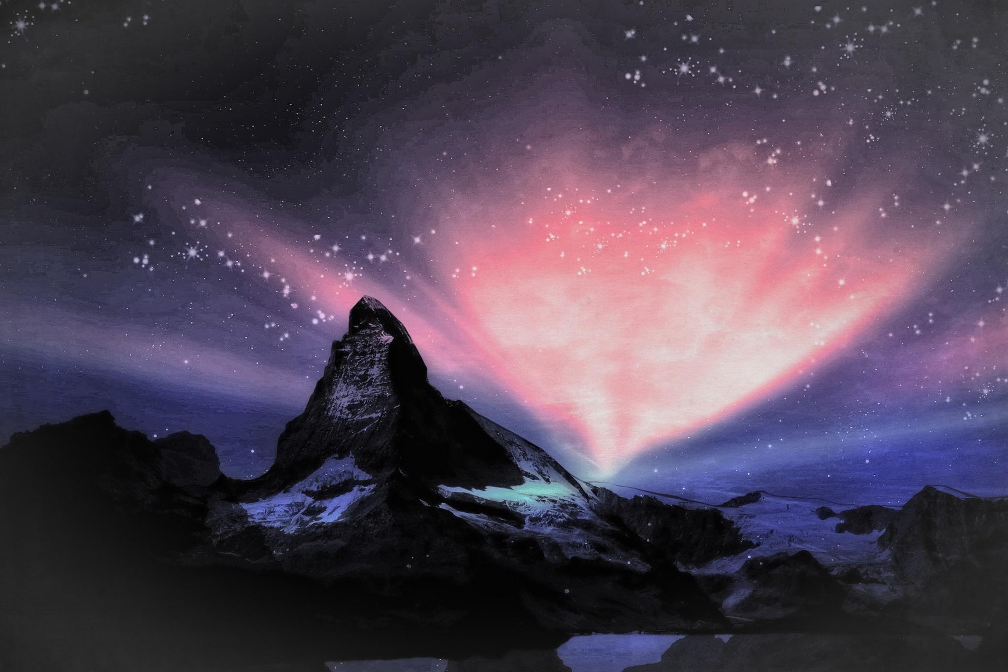 Fantasy Matterhorn by Brigitte Werner