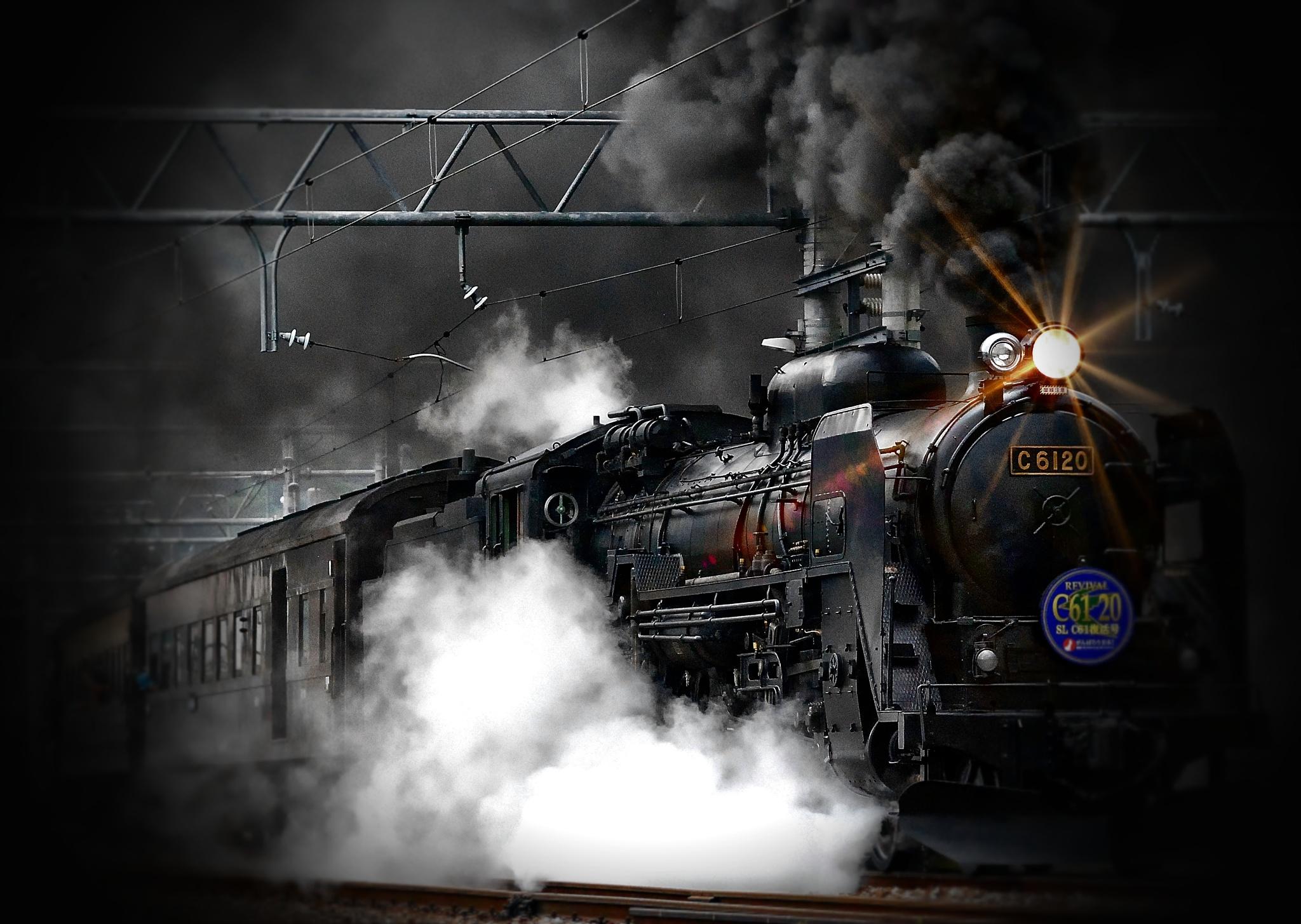 Steaming by Brigitte Werner