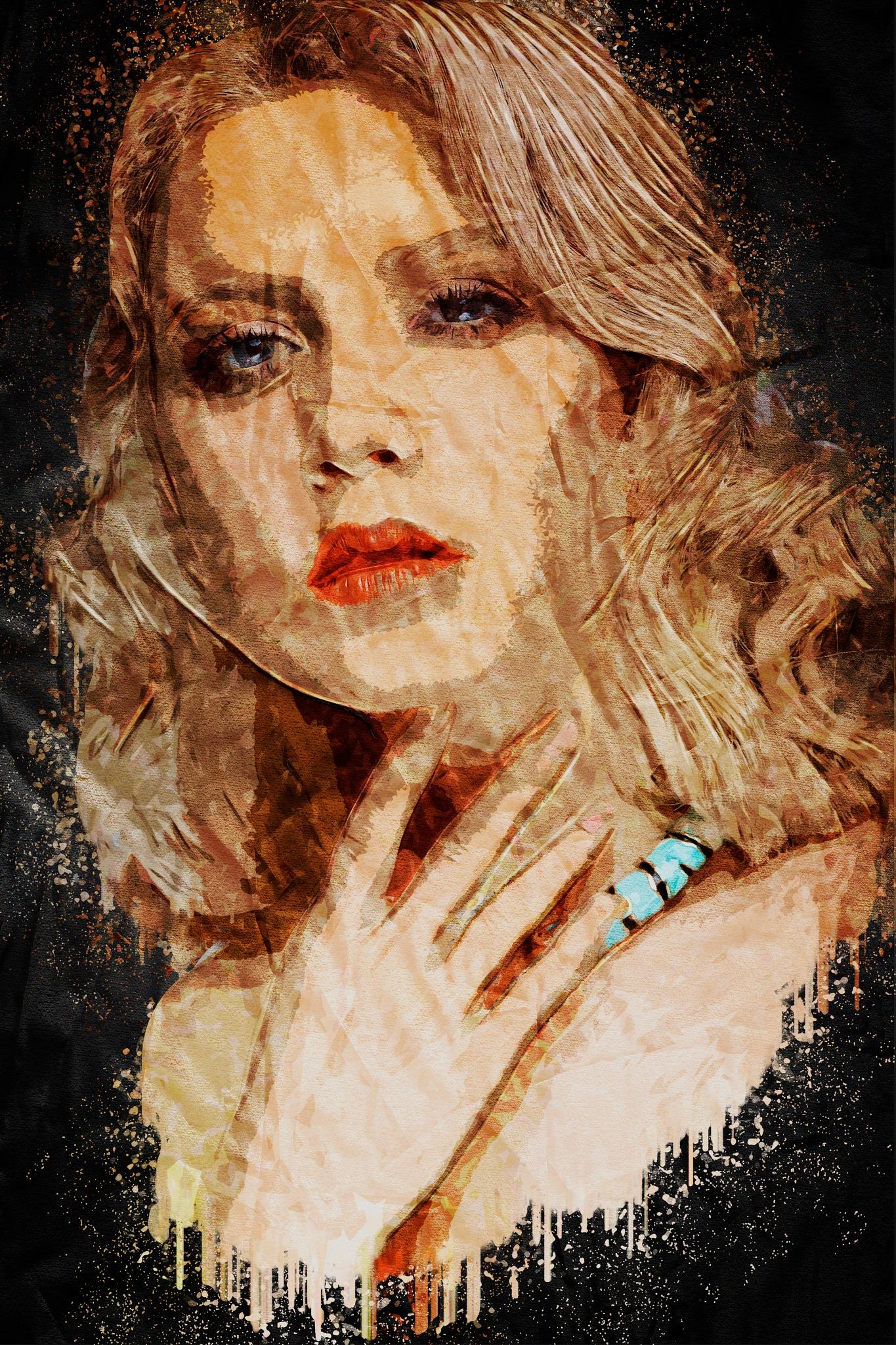 Acrylic Painting by Brigitte Werner