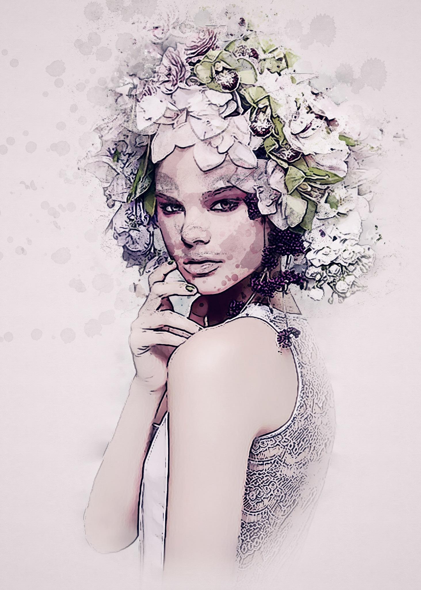 Flower Power by Brigitte Werner