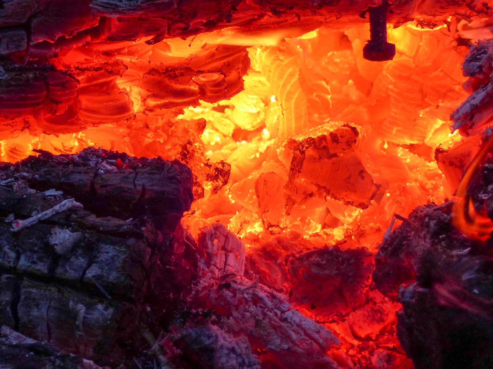 Raging Fire by Brigitte Werner