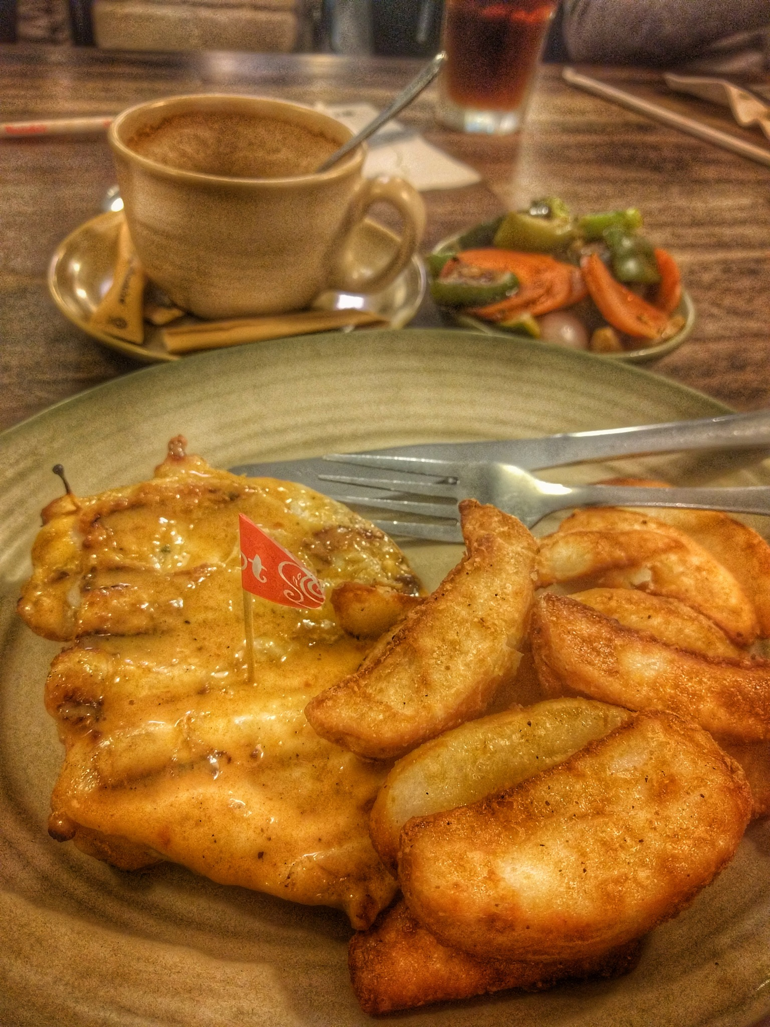 Nando's Chicken Butterfly by Michael Lee
