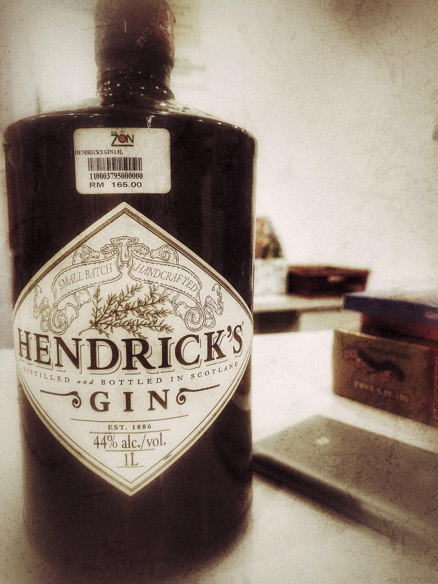 Hendrick's Gin by Michael Lee