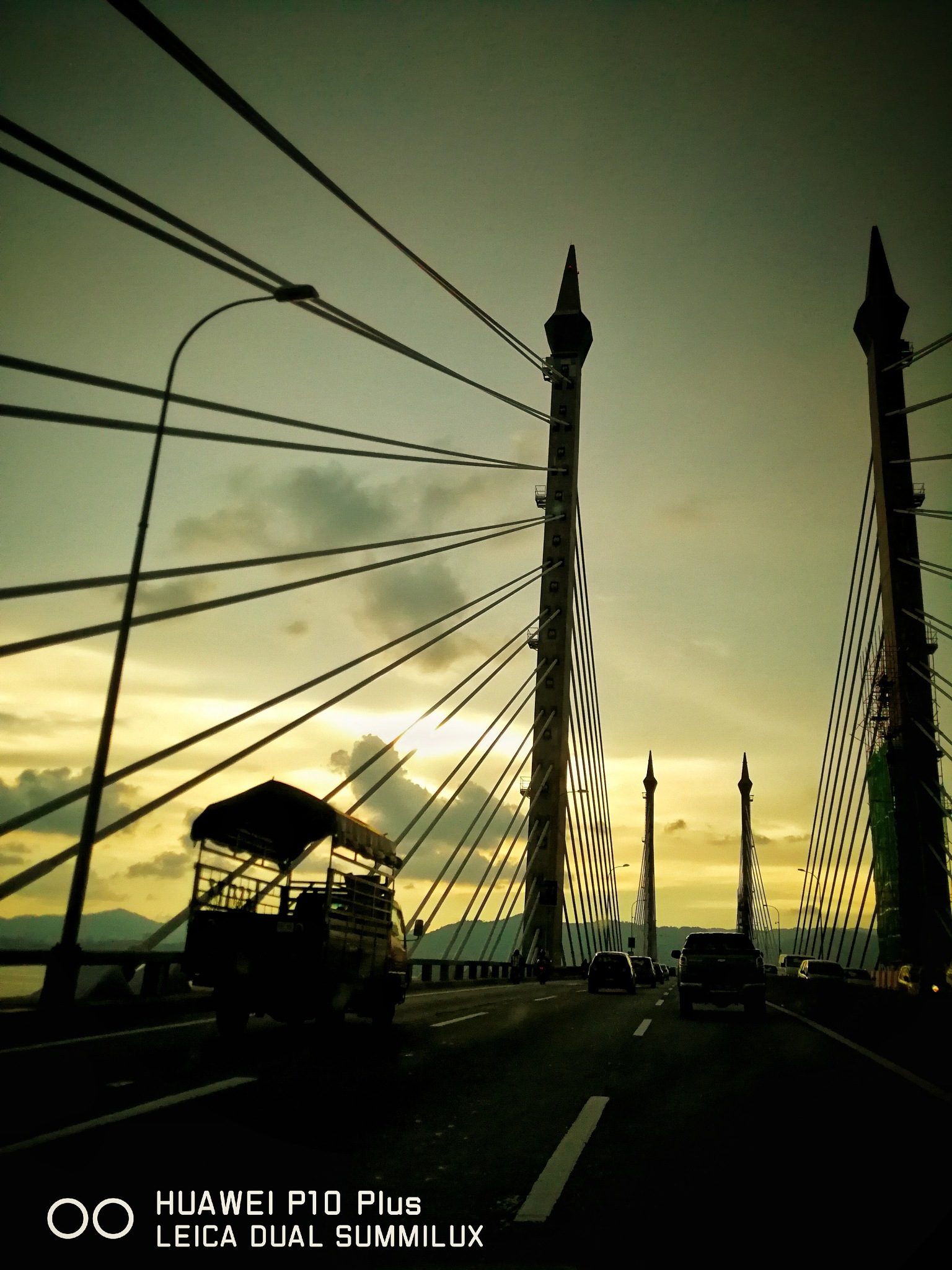 Penang Bridge by Michael Lee