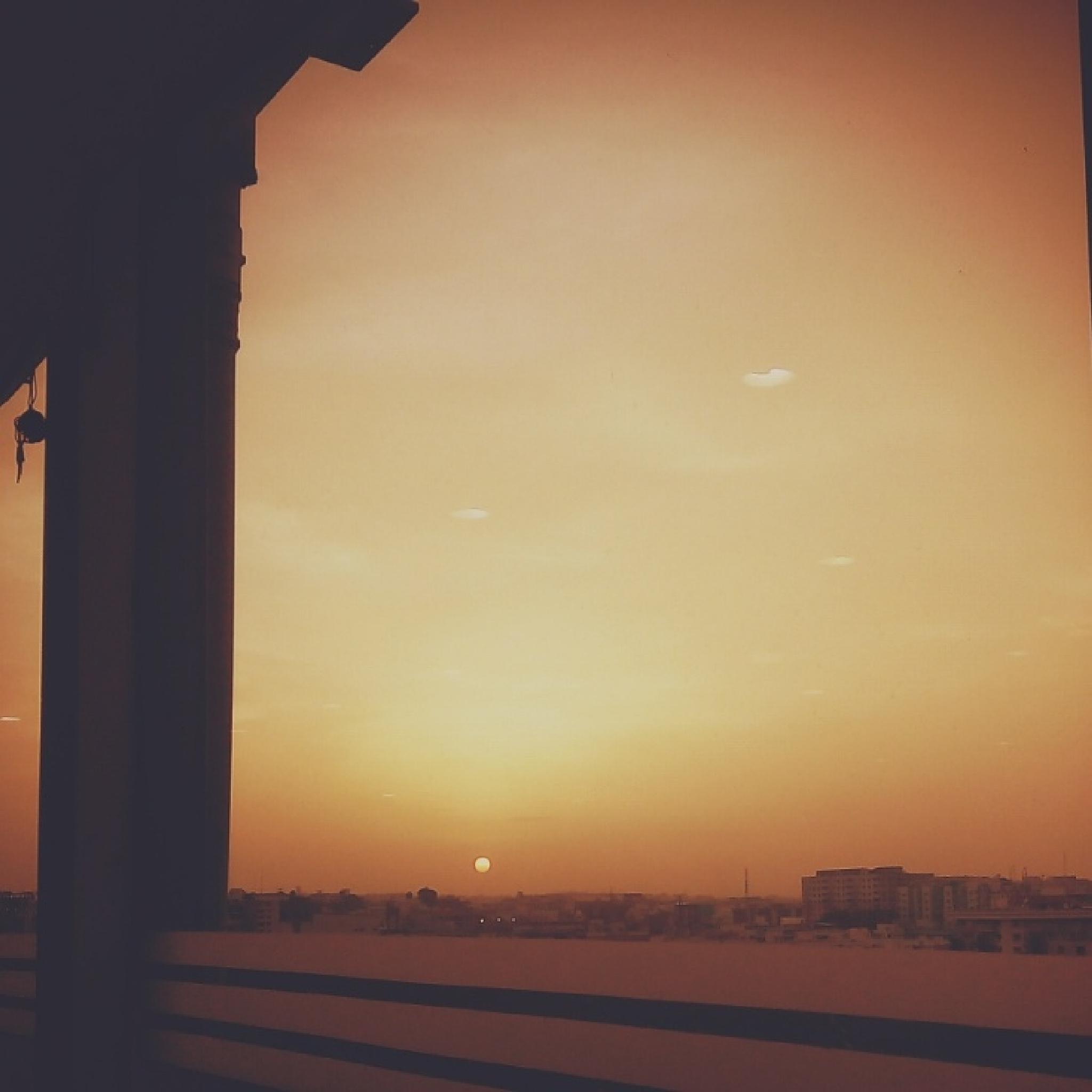 Sunset!! by Vidya Rada