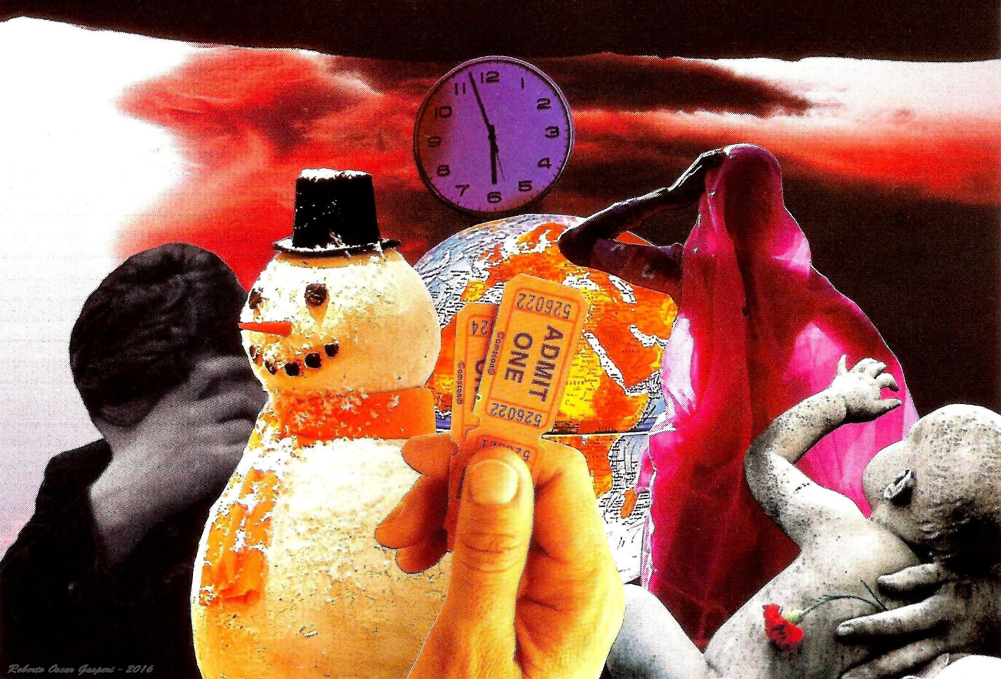 DEADLINE by Roberto Oscar Gasperi
