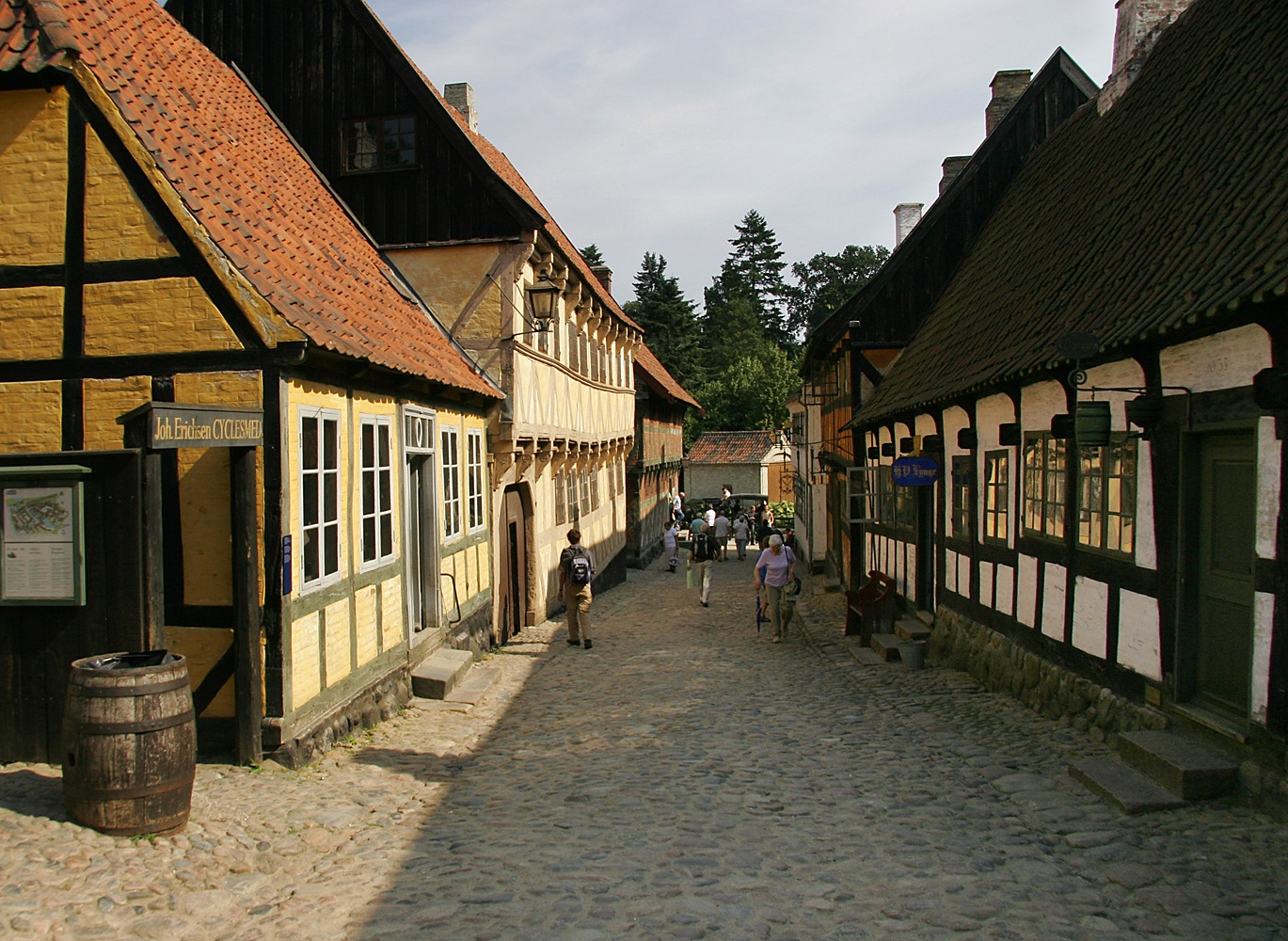 Den Gamle By by Carl Main
