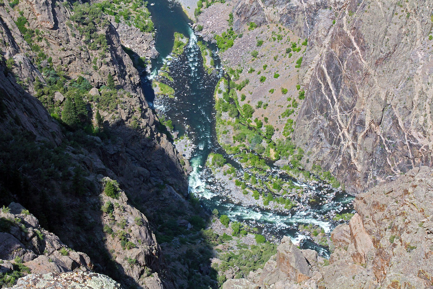 Black Canyon of the Gunnison by Carl Main