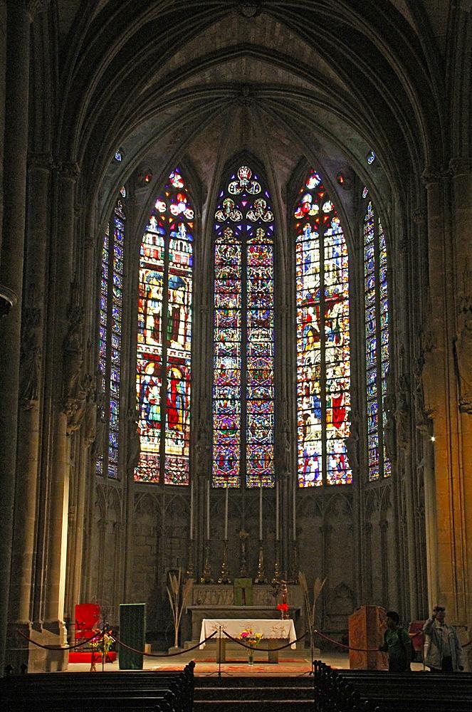 Carcassonne - Eglise St. Nazaire Altar by Carl Main