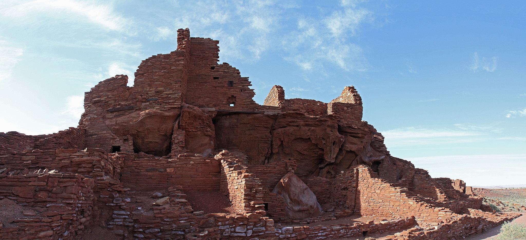 Wupatki Pueblo by Carl Main