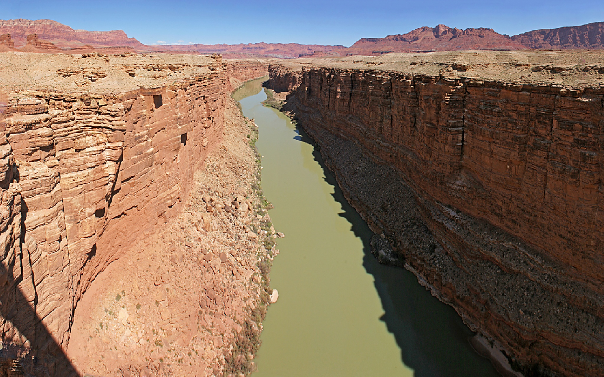 Colorado River at Navajo Bridge by Carl Main