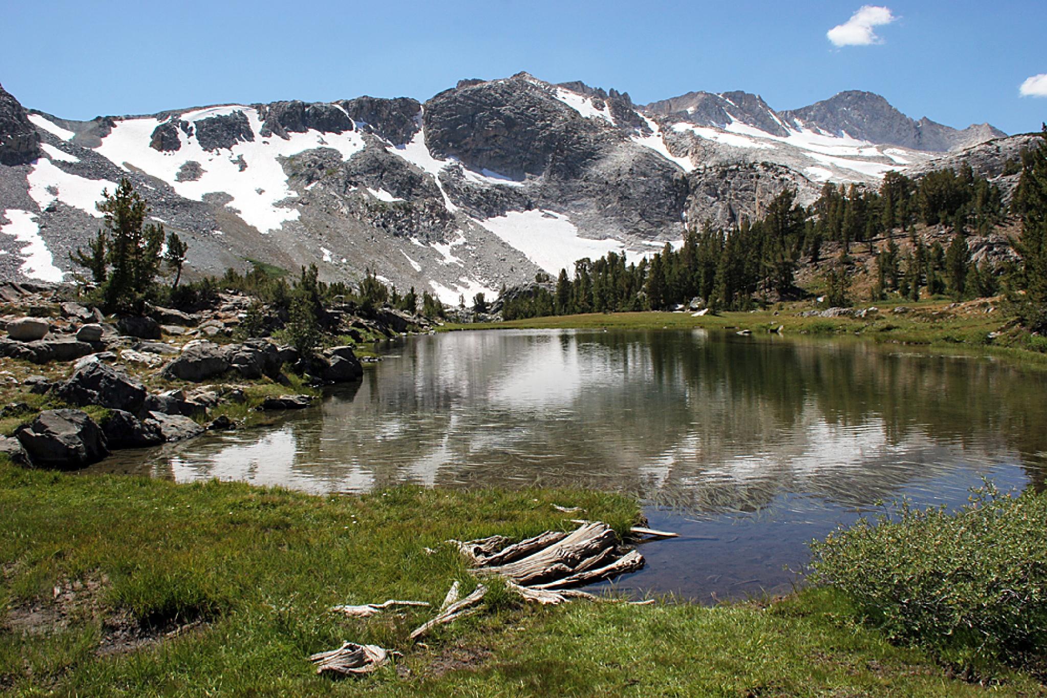 20 Lakes Basin - Wasco Lake by Carl Main