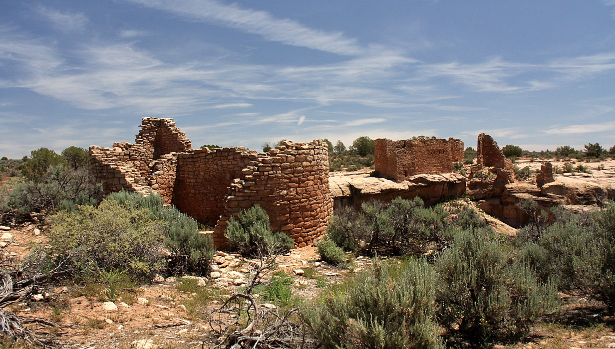 Hovenweep Castle.   by Carl Main