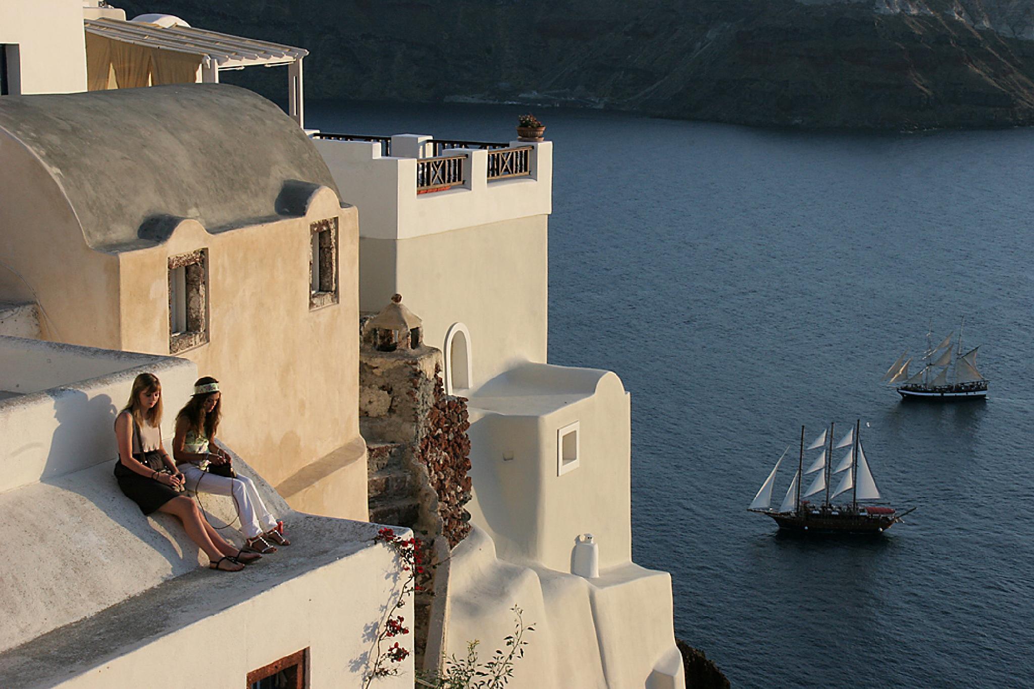 Photo in Travel #santorini #greece