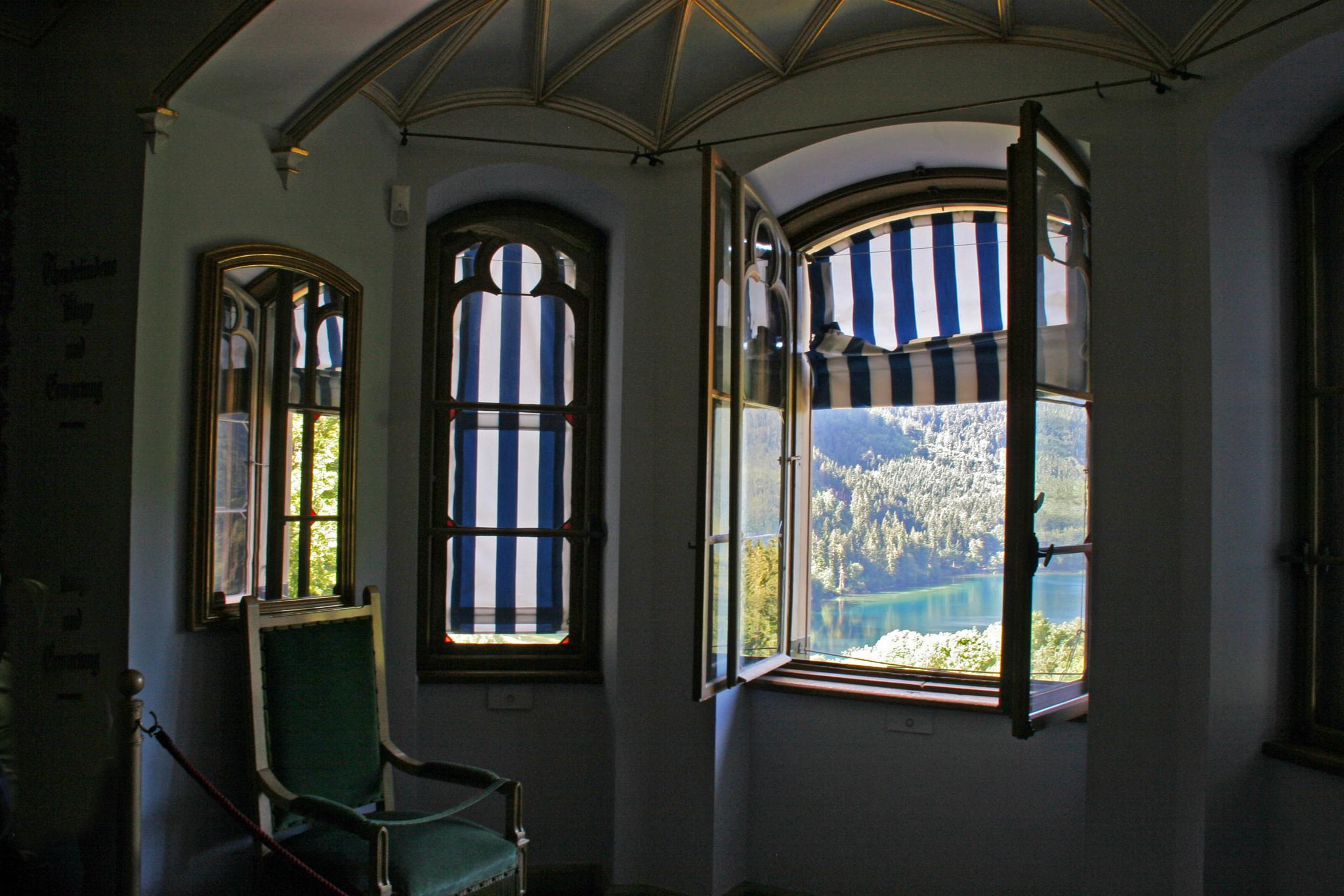 Howhenschwangau - Bedroom Window by Carl Main